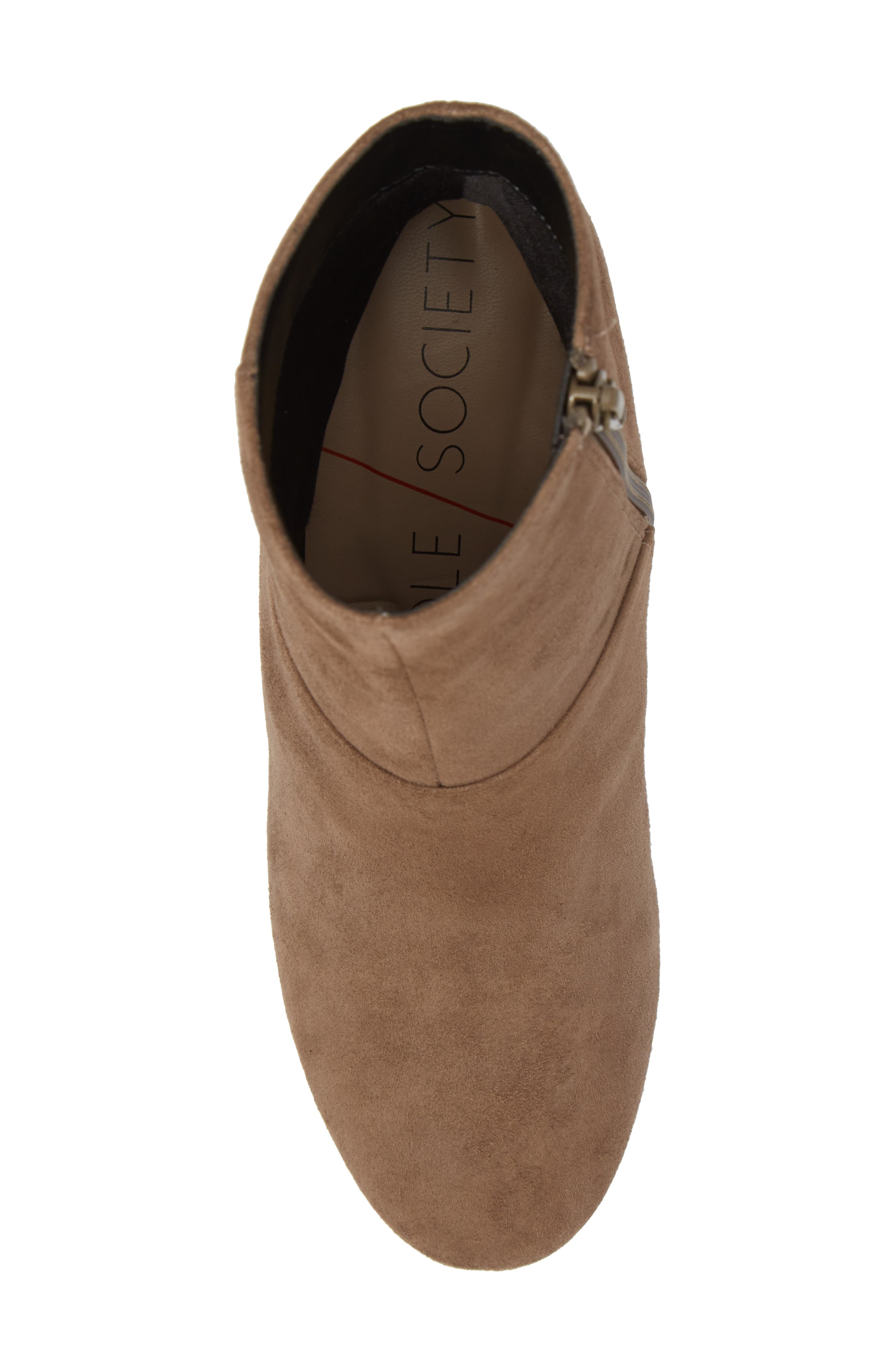 Dinah Bootie,                             Alternate thumbnail 5, color,                             Night Taupe