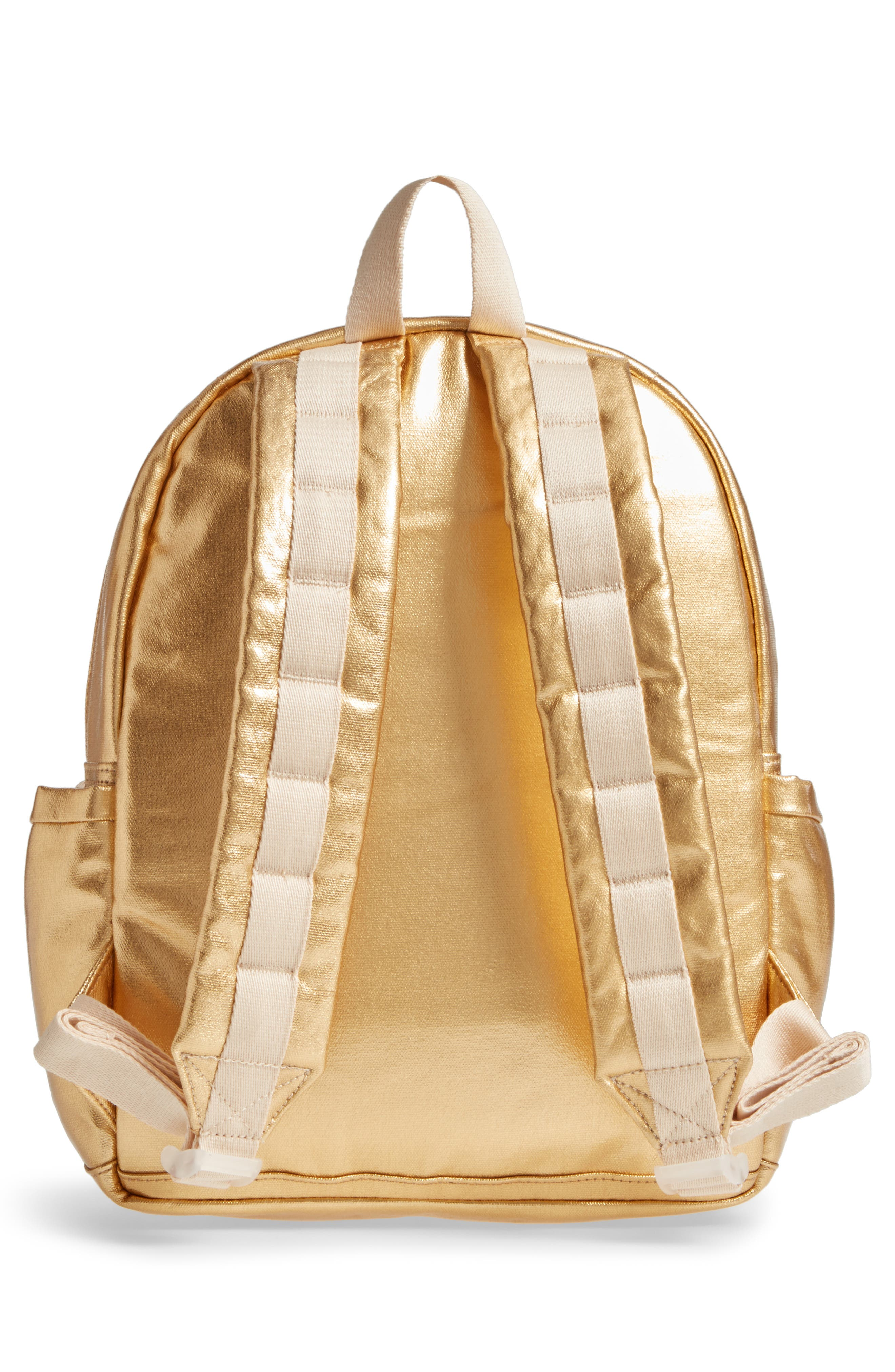 Downtown Kane Backpack,                             Alternate thumbnail 3, color,                             Gold