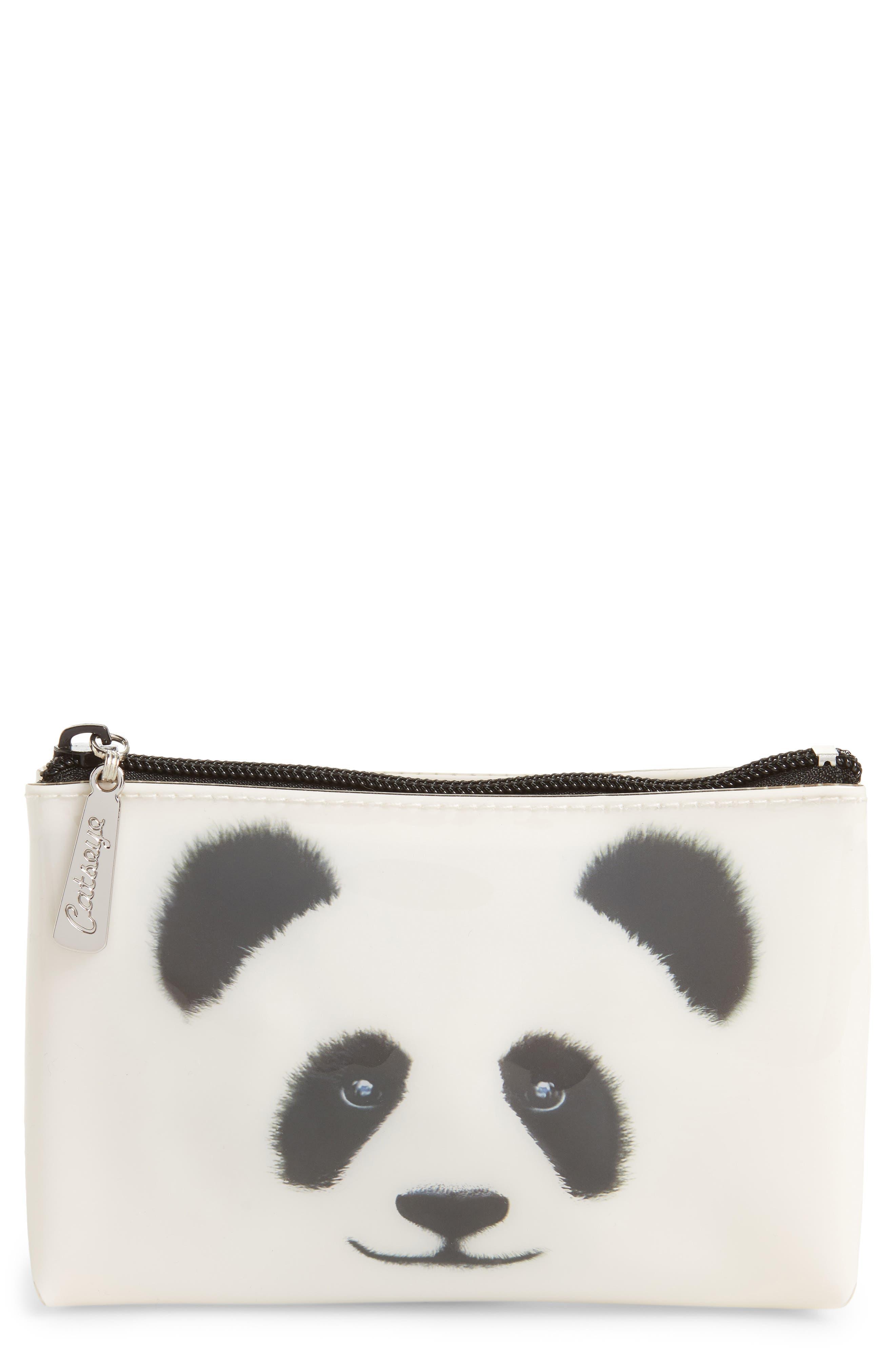 Catseye London Big Face Panda Cosmetics Case