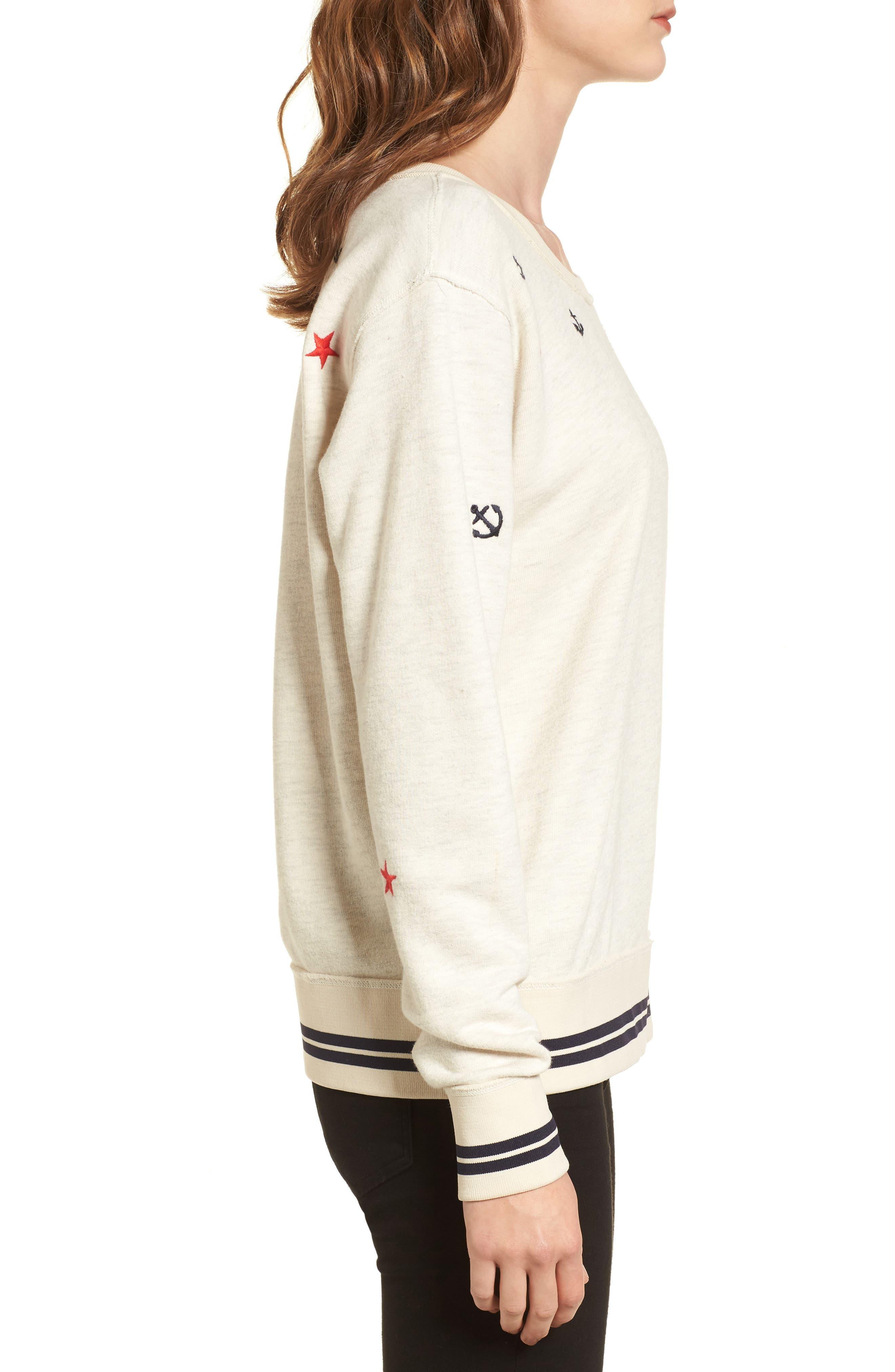 Alternate Image 3  - Scotch & Soda Nautical Sweatshirt