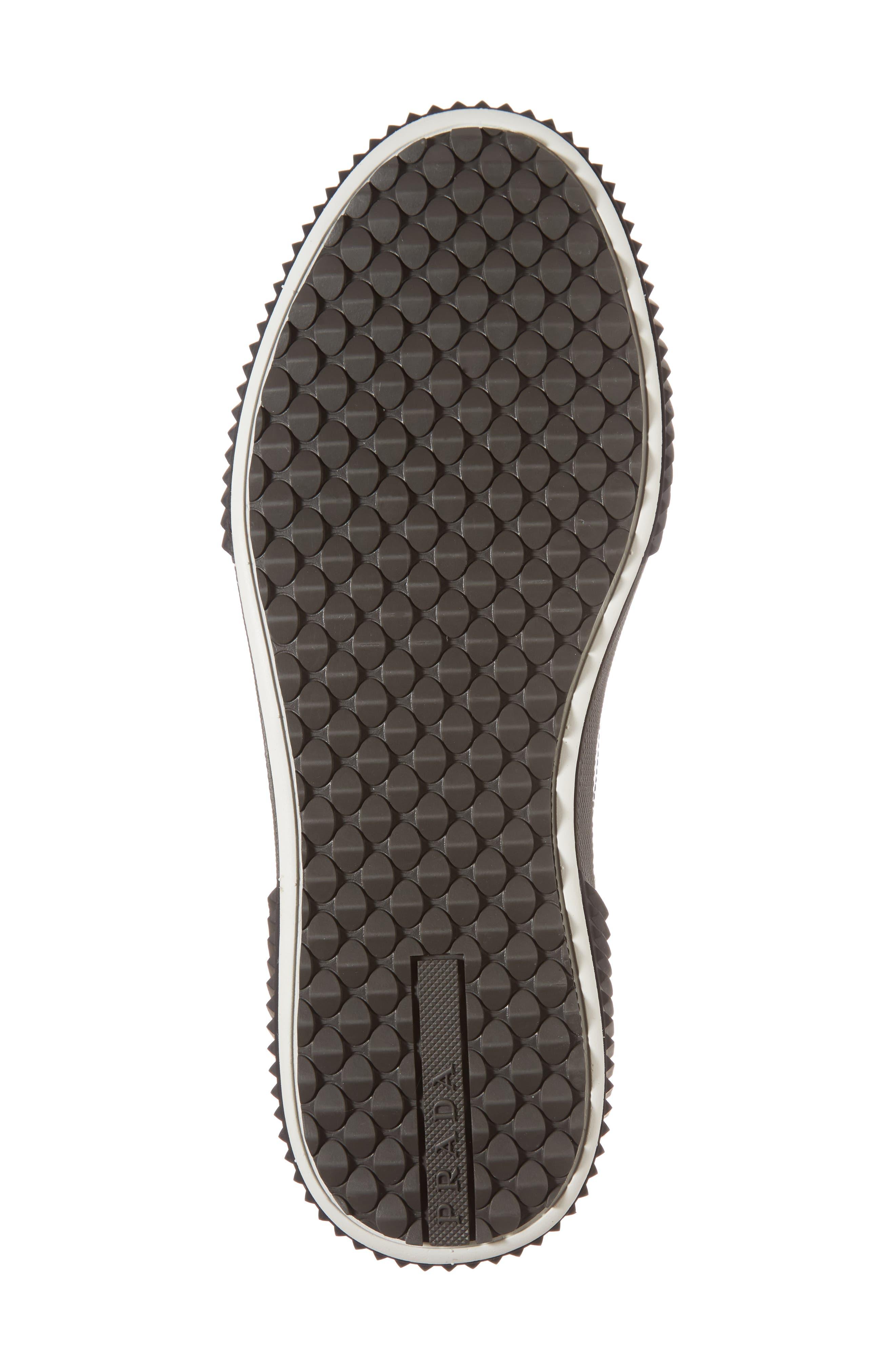 Linea Rossa Wingtip Sneaker,                             Alternate thumbnail 6, color,                             Cordovan Nero