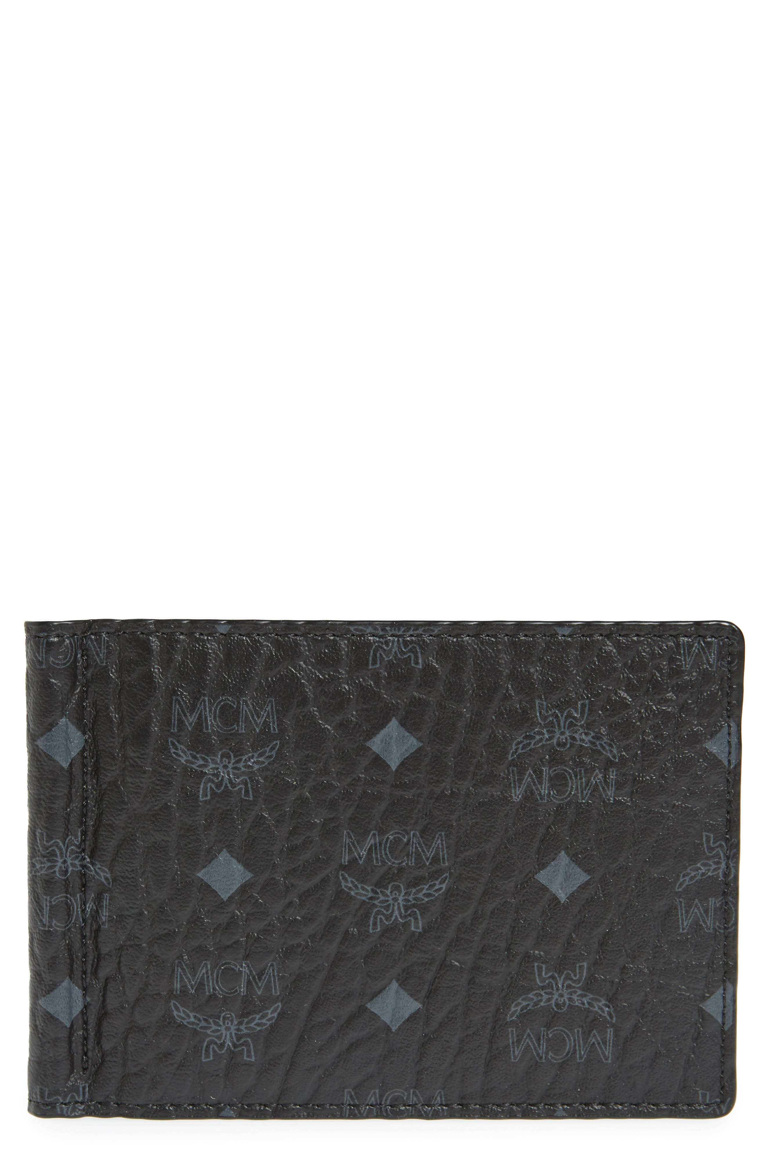 Alternate Image 1 Selected - MCM Visetos Faux Leather Wallet