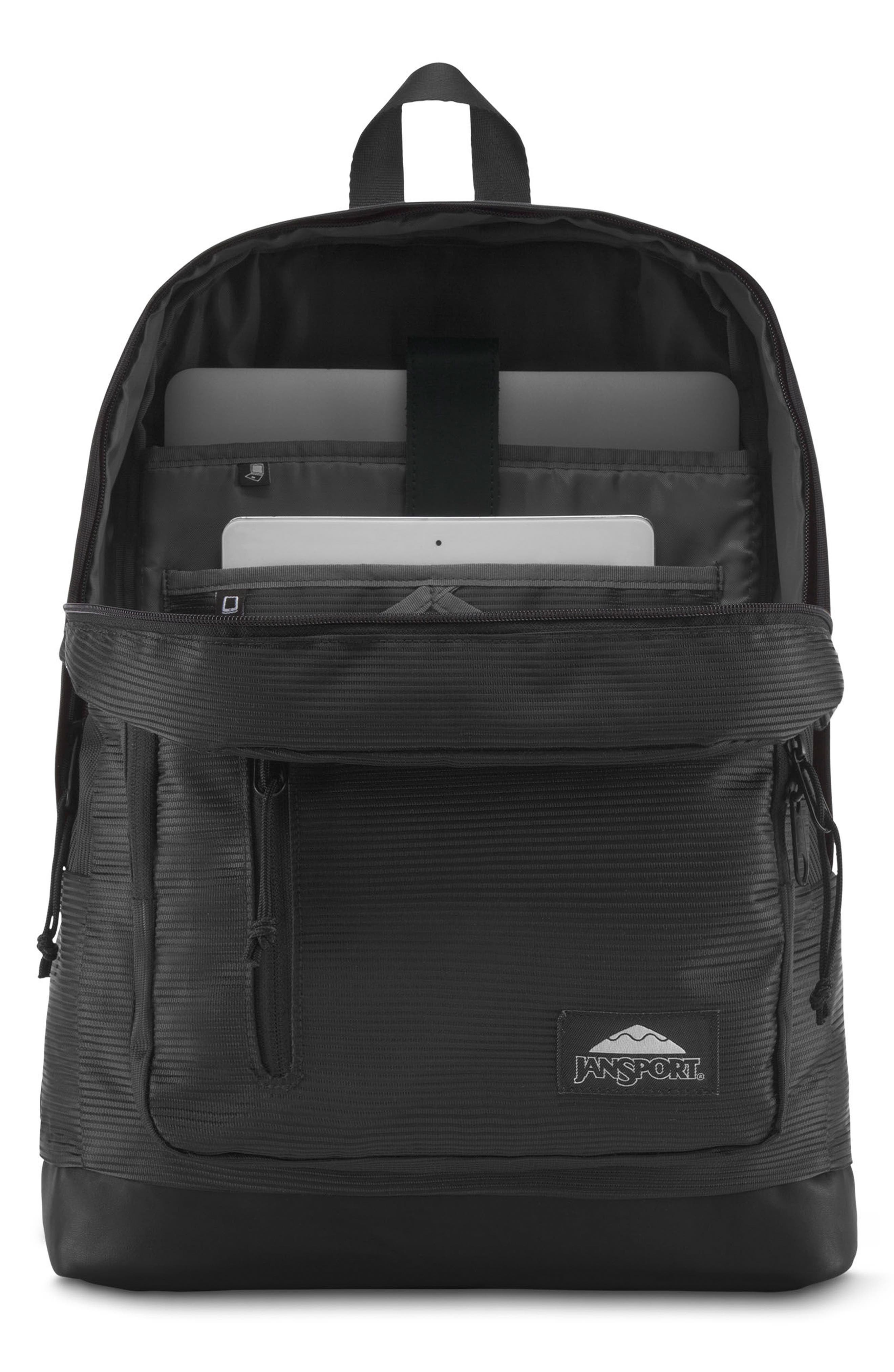 Axiom Backpack,                             Alternate thumbnail 4, color,                             Black Line