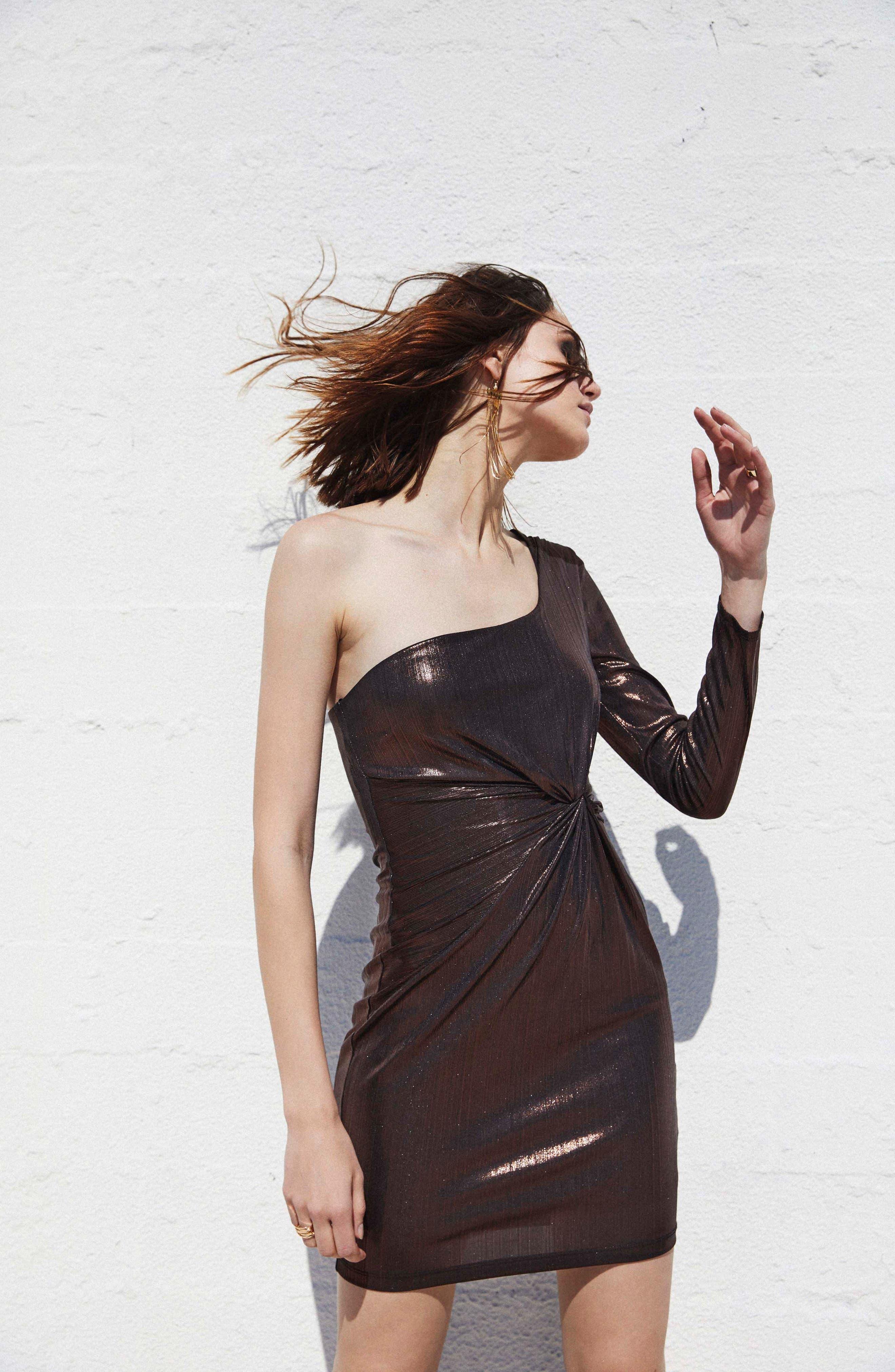 Alternate Image 2  - ASTR the Label Silvia Body-Con dress
