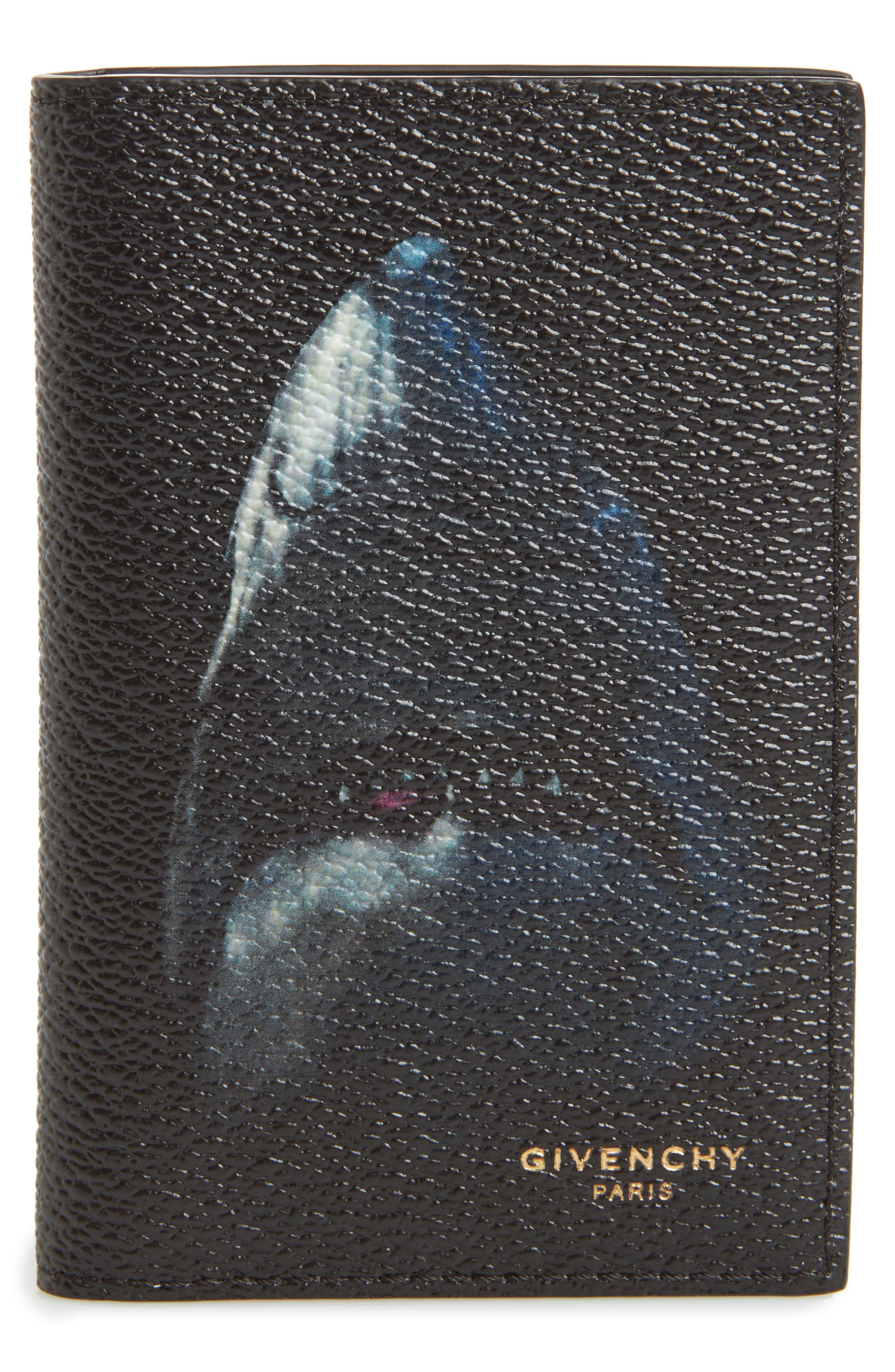 Givenchy Shark Bifold Card Case
