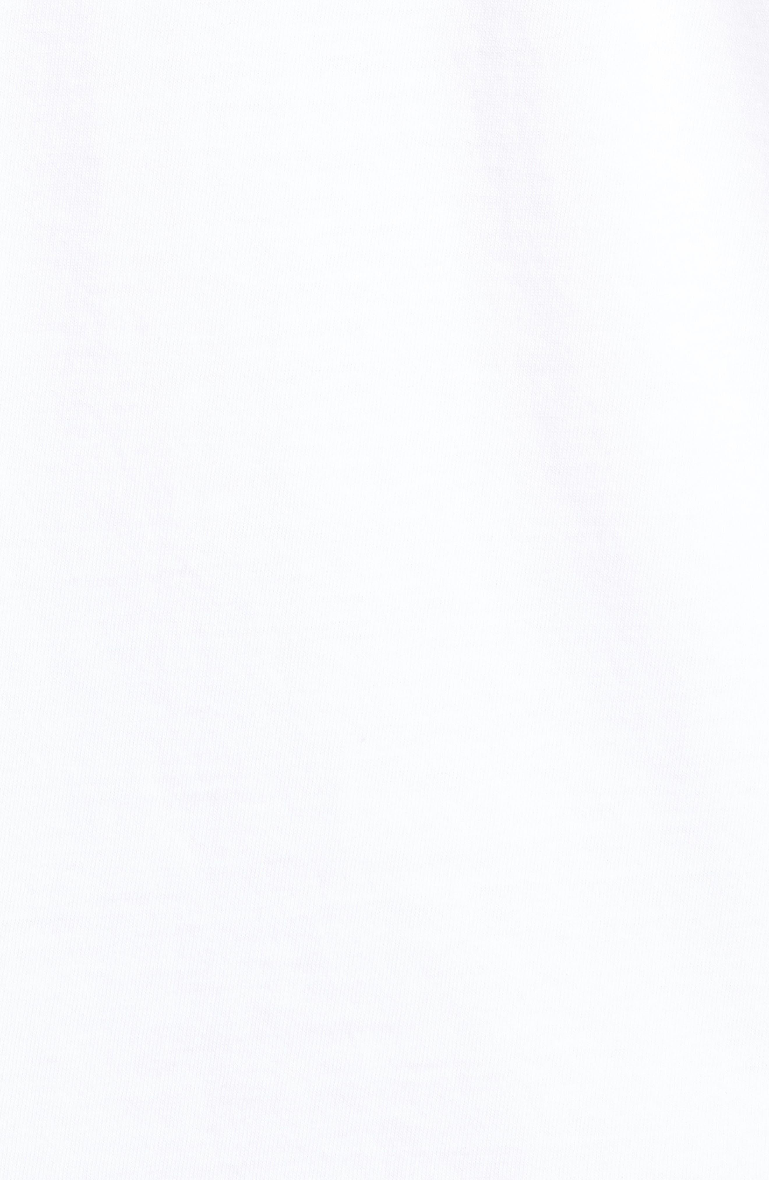 Logo Graphic Long Sleeve T-Shirt,                             Alternate thumbnail 5, color,                             White Cap