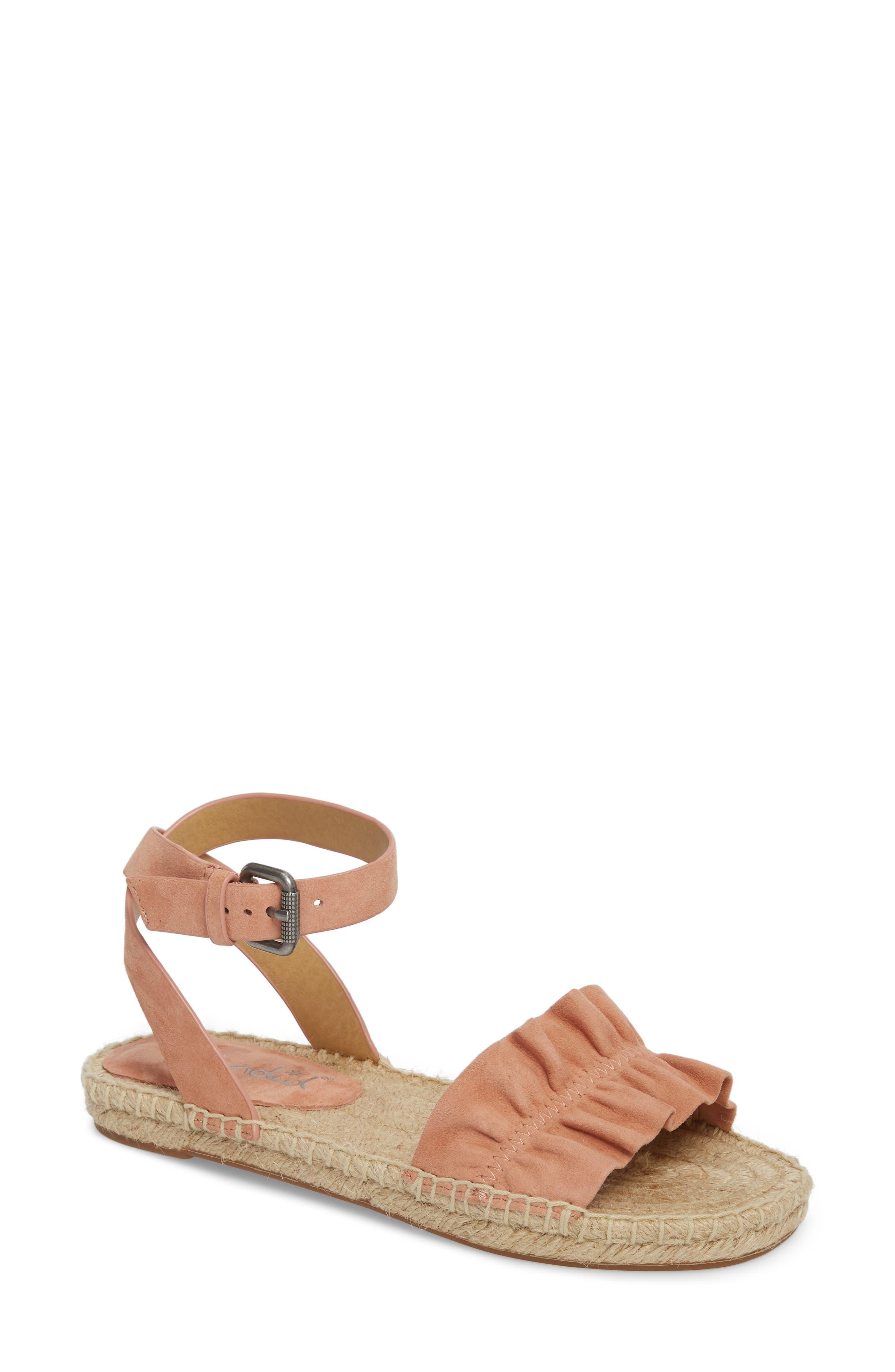 Alternate Image 1 Selected - Splendid Becca Ruffled Espadrille Sandal (Women)