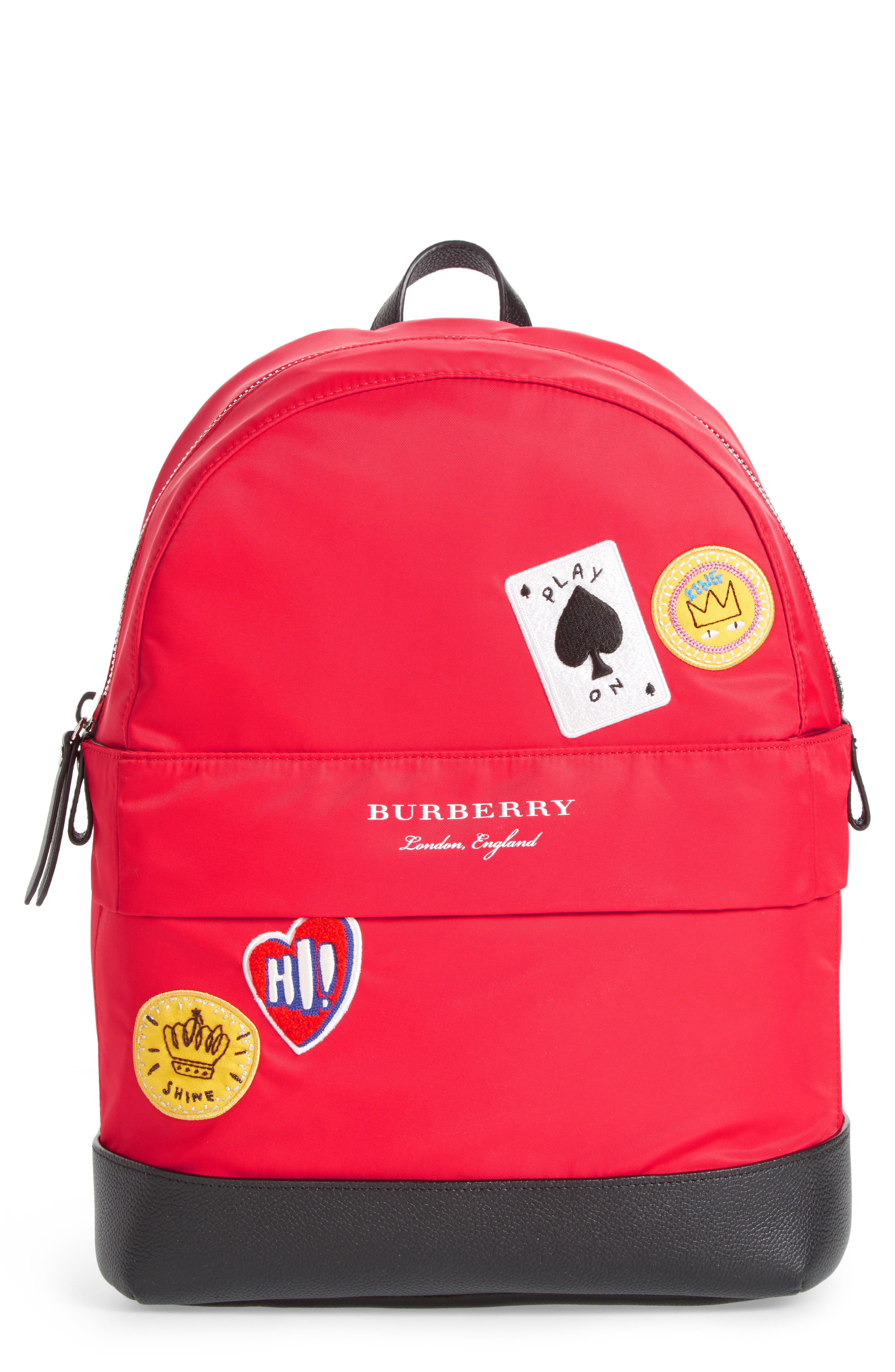 Alternate Image 1 Selected - Burberry Nico Cards Backpack (Kids)