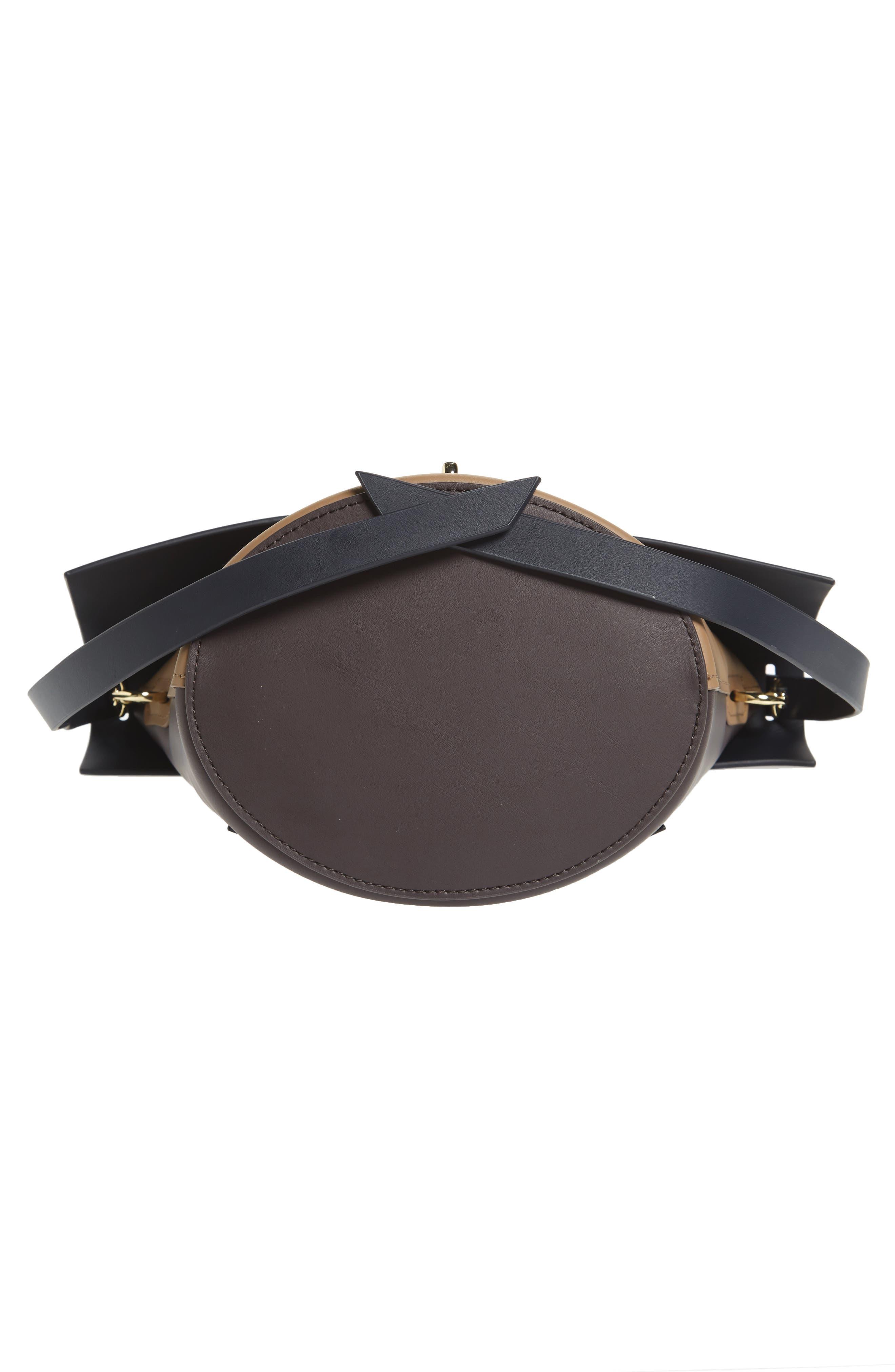Alternate Image 6  - ZAC Zac Posen Belay Colorblock Calfskin Leather Bucket Bag