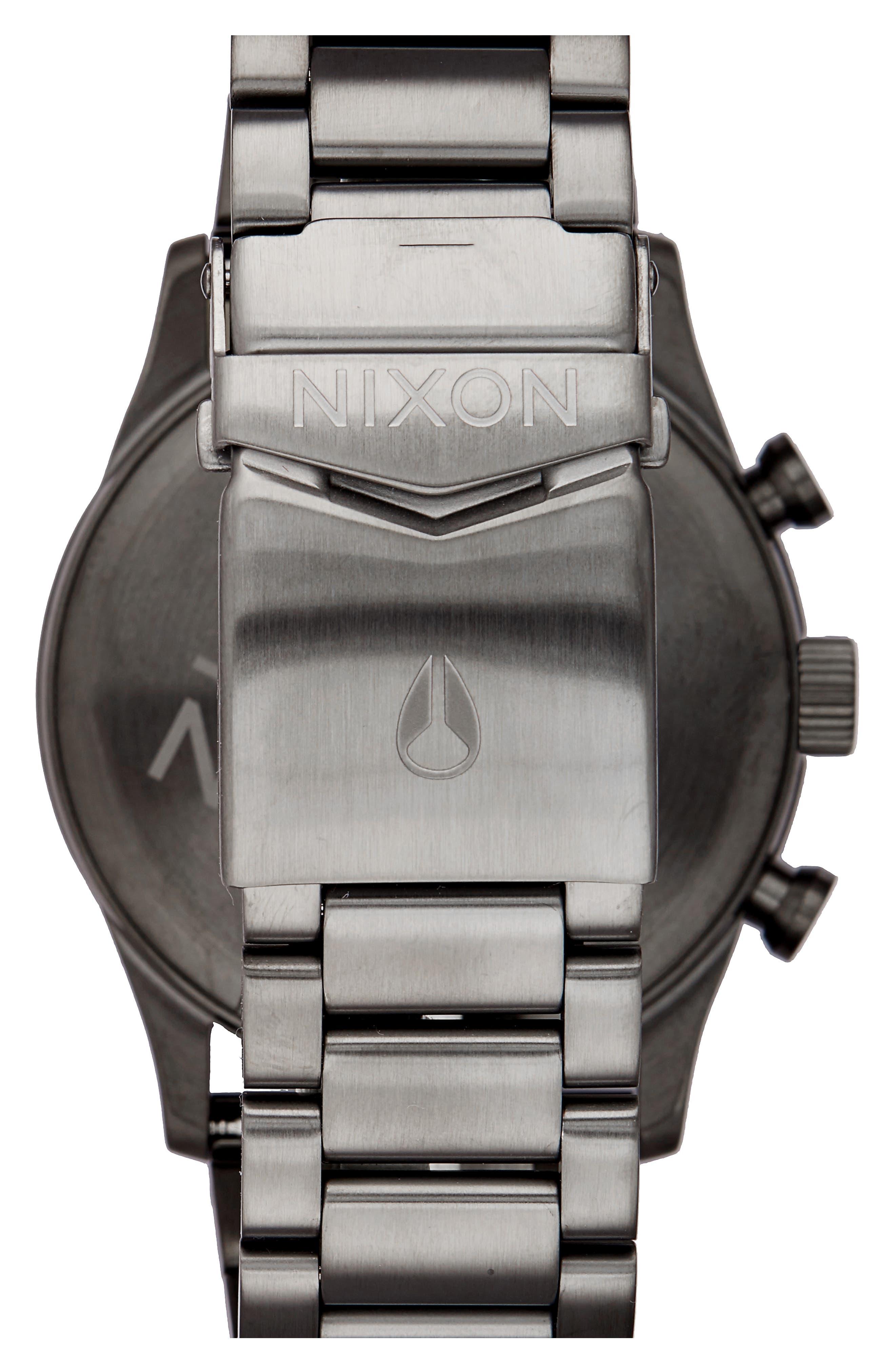 Freemont Chronograph Bracelet Watch, 42mm,                             Alternate thumbnail 2, color,                             Gunmetal