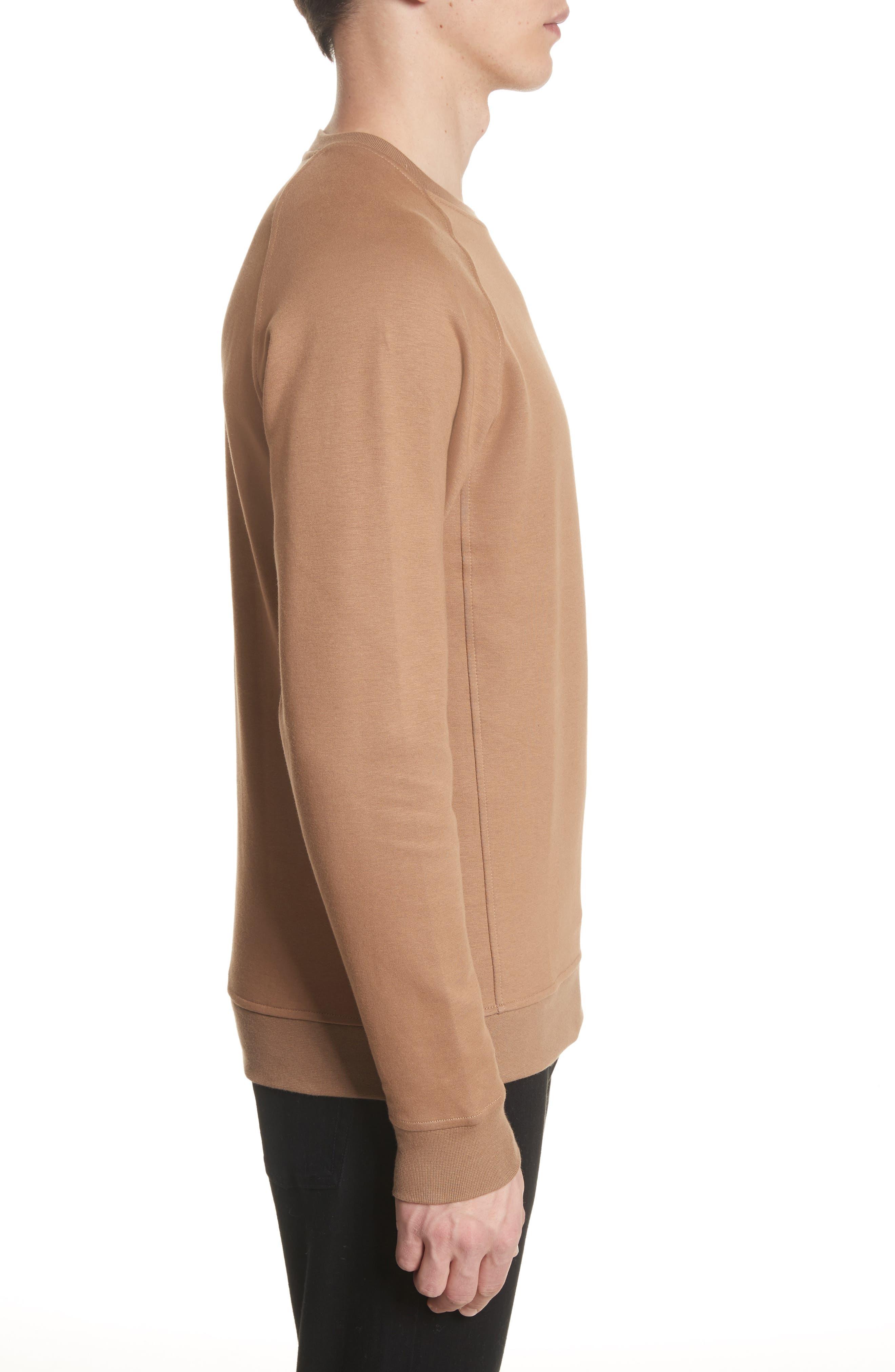 Ketel Dry Mercerized Crewneck Sweatshirt,                             Alternate thumbnail 3, color,                             Light Sand