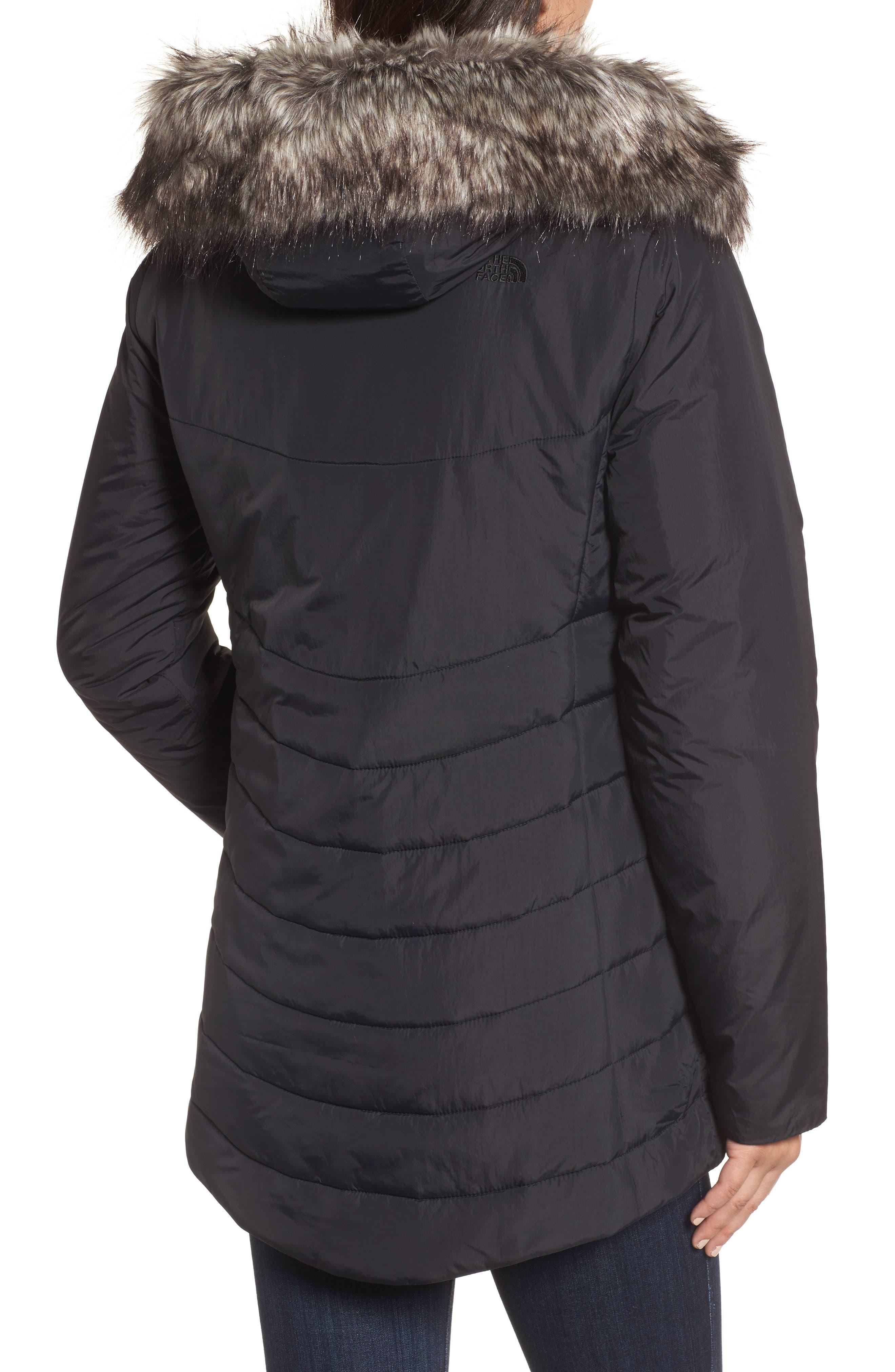 Alternate Image 2  - The North Face Harway Heatseeker™ Water-Resistant Jacket with Faux Fur Trim