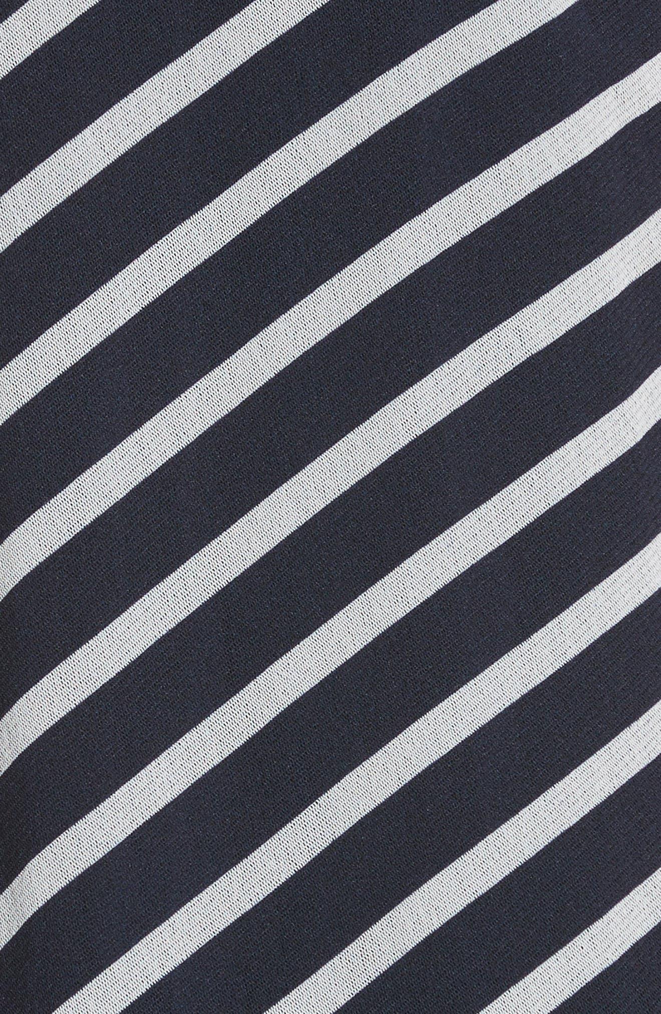 Stripe Maxi Tank Dress,                             Alternate thumbnail 5, color,                             Zaffiro