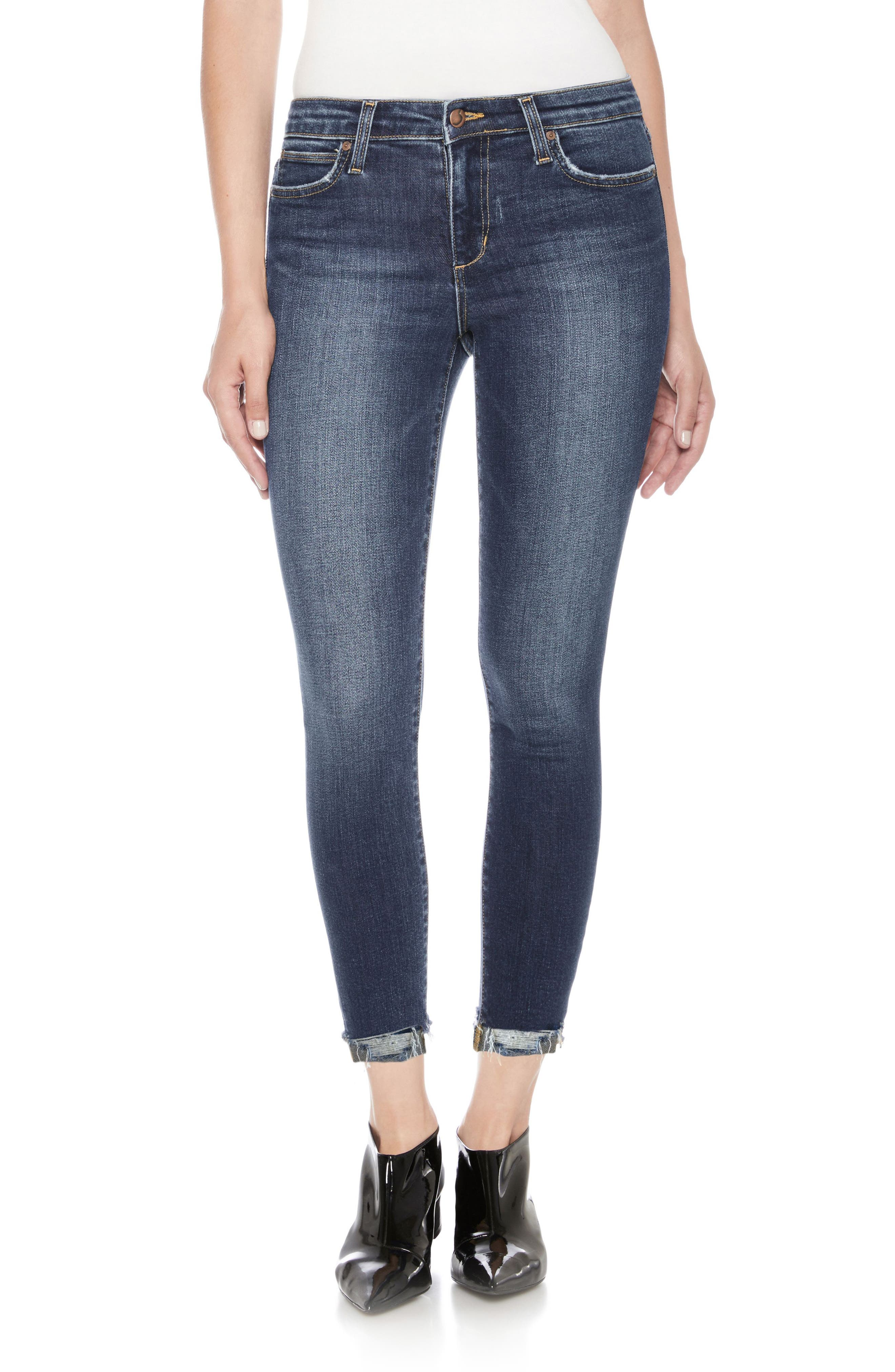 Icon Ankle Skinny Jeans,                             Main thumbnail 1, color,                             Theodora