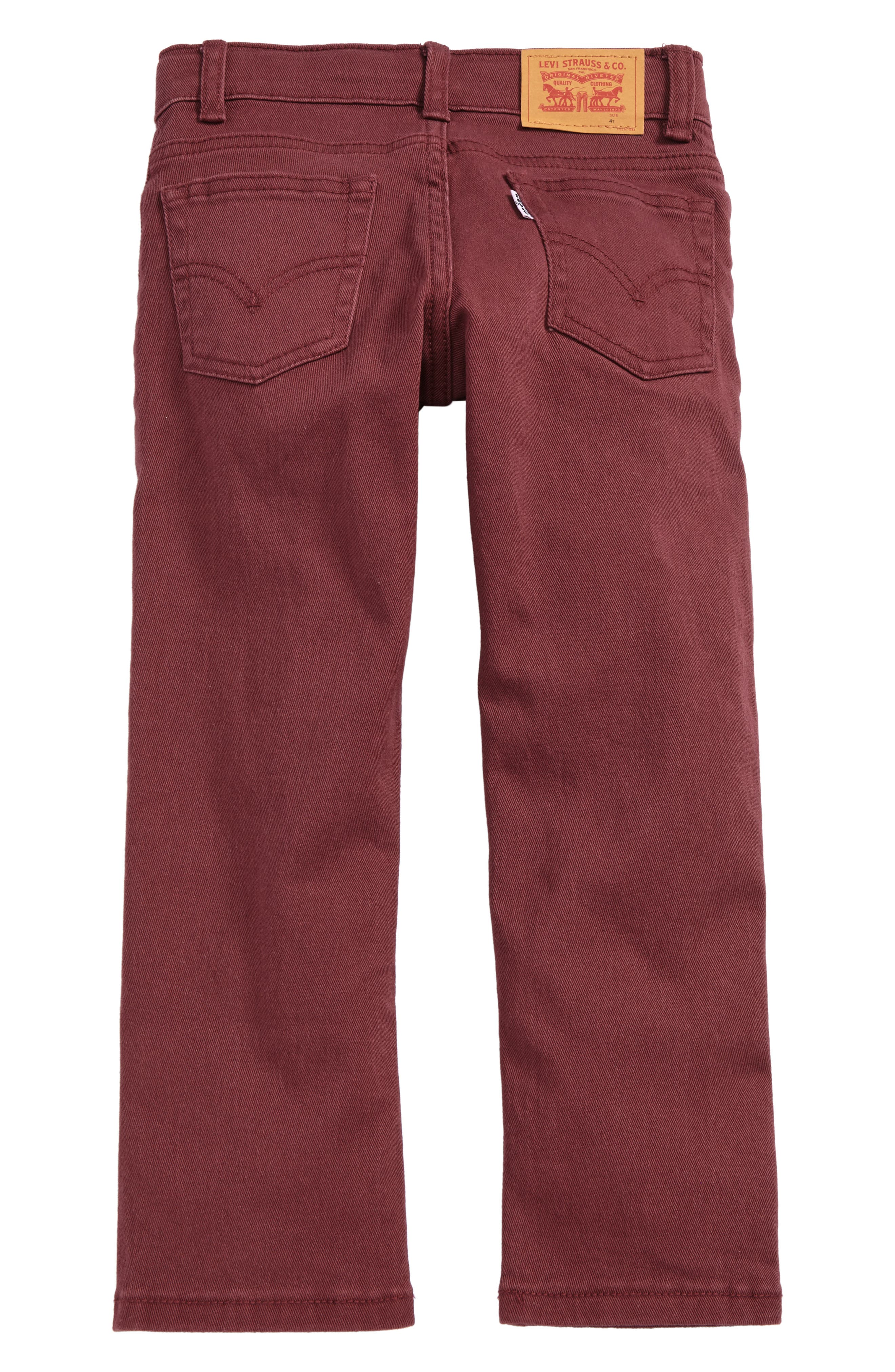511<sup>™</sup> Slim Fit Jeans,                             Alternate thumbnail 2, color,                             Red Mahogany