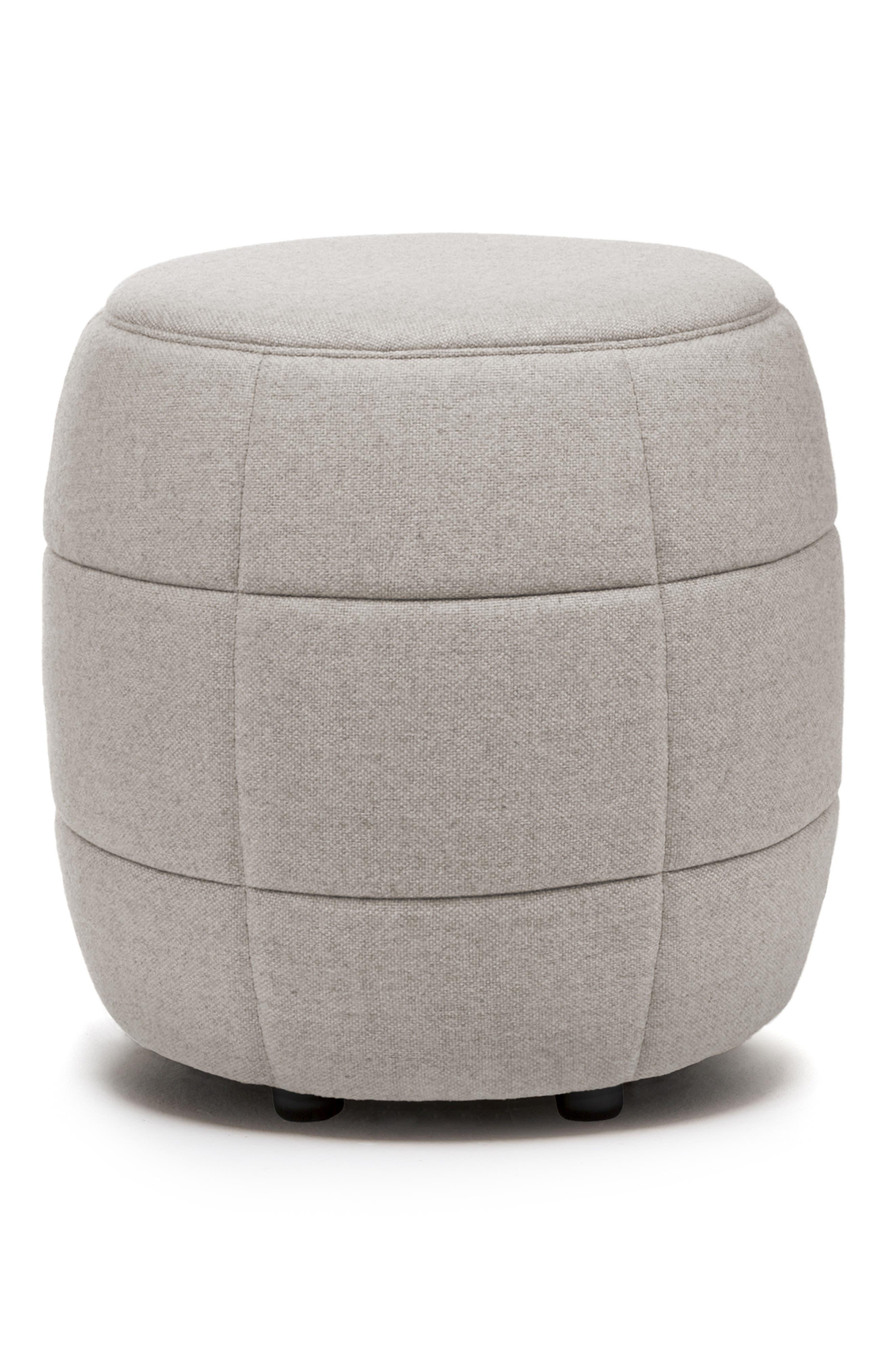 Main Image - Design on Stock USA Barrell - Ploegwool Wool Stool