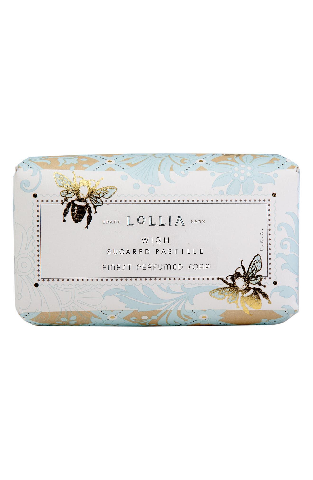 Alternate Image 1 Selected - Lollia Wish Shea Butter Soap