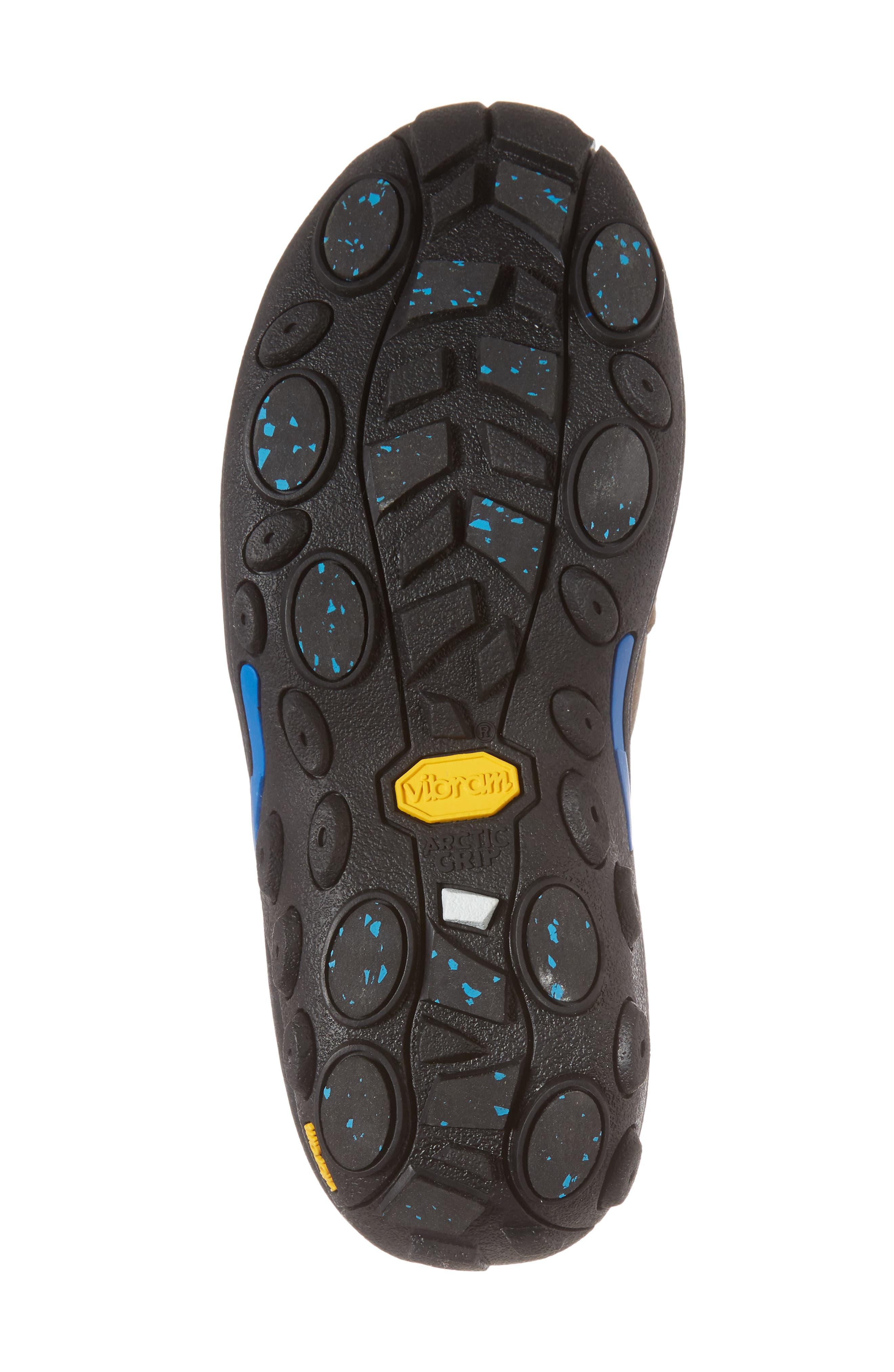 Jungle Moc Ice Waterproof Sneaker,                             Alternate thumbnail 6, color,                             Gun Smoke Leather