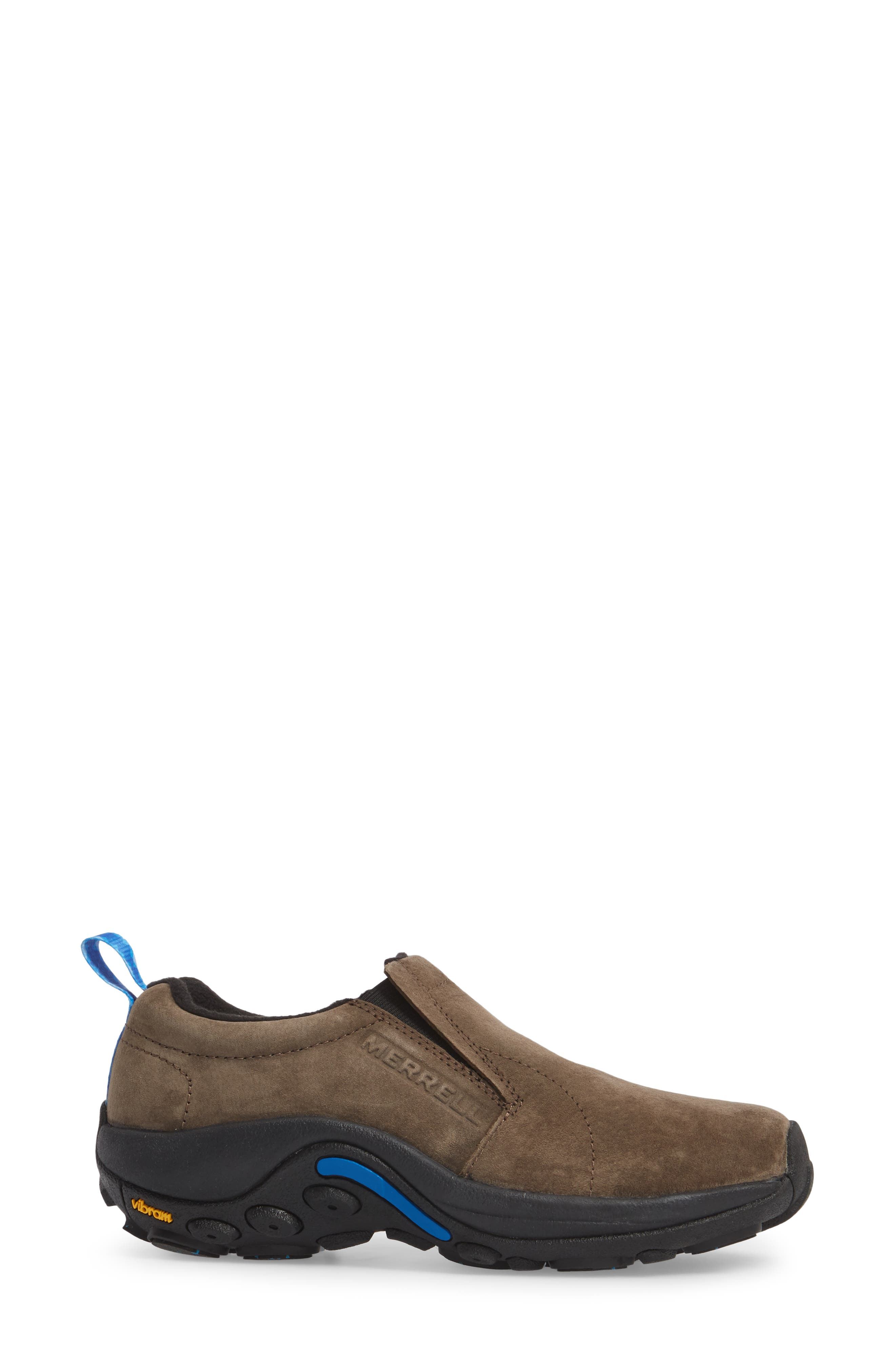 Jungle Moc Ice Waterproof Sneaker,                             Alternate thumbnail 3, color,                             Gun Smoke Leather