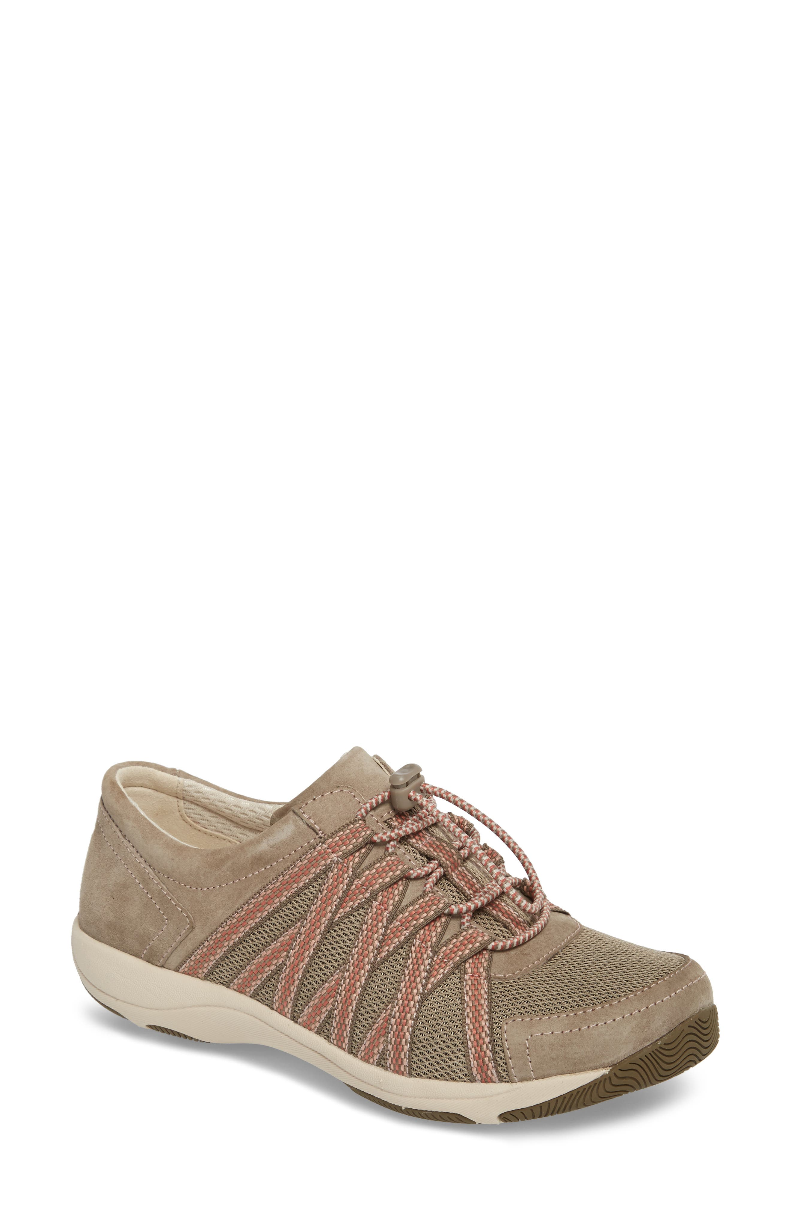 Halifax Collection Honor Sneaker,                             Main thumbnail 1, color,                             Walnut Suede