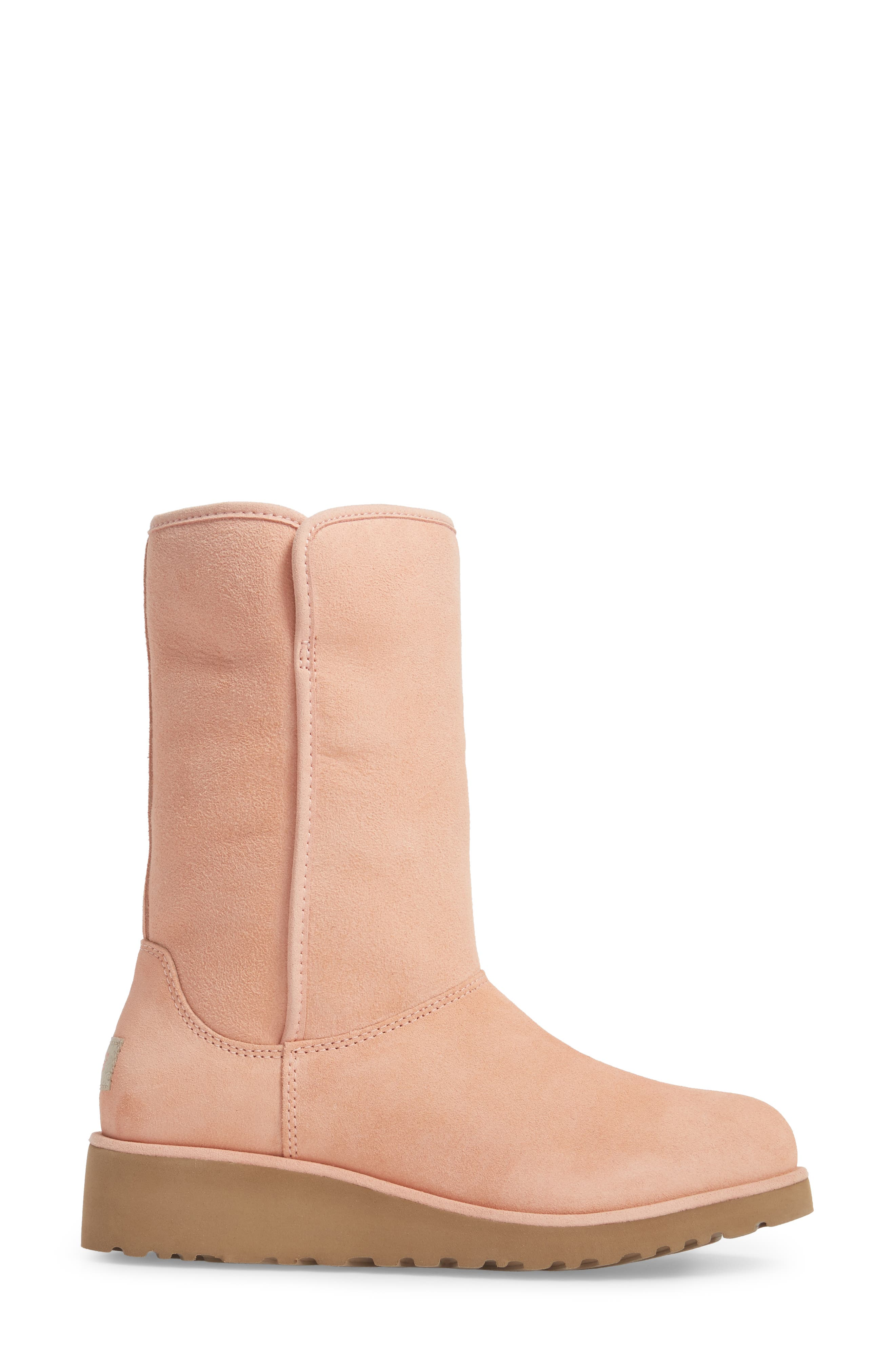 Alternate Image 3  - UGG® Amie - Classic Slim™ Water Resistant Short Boot (Women)