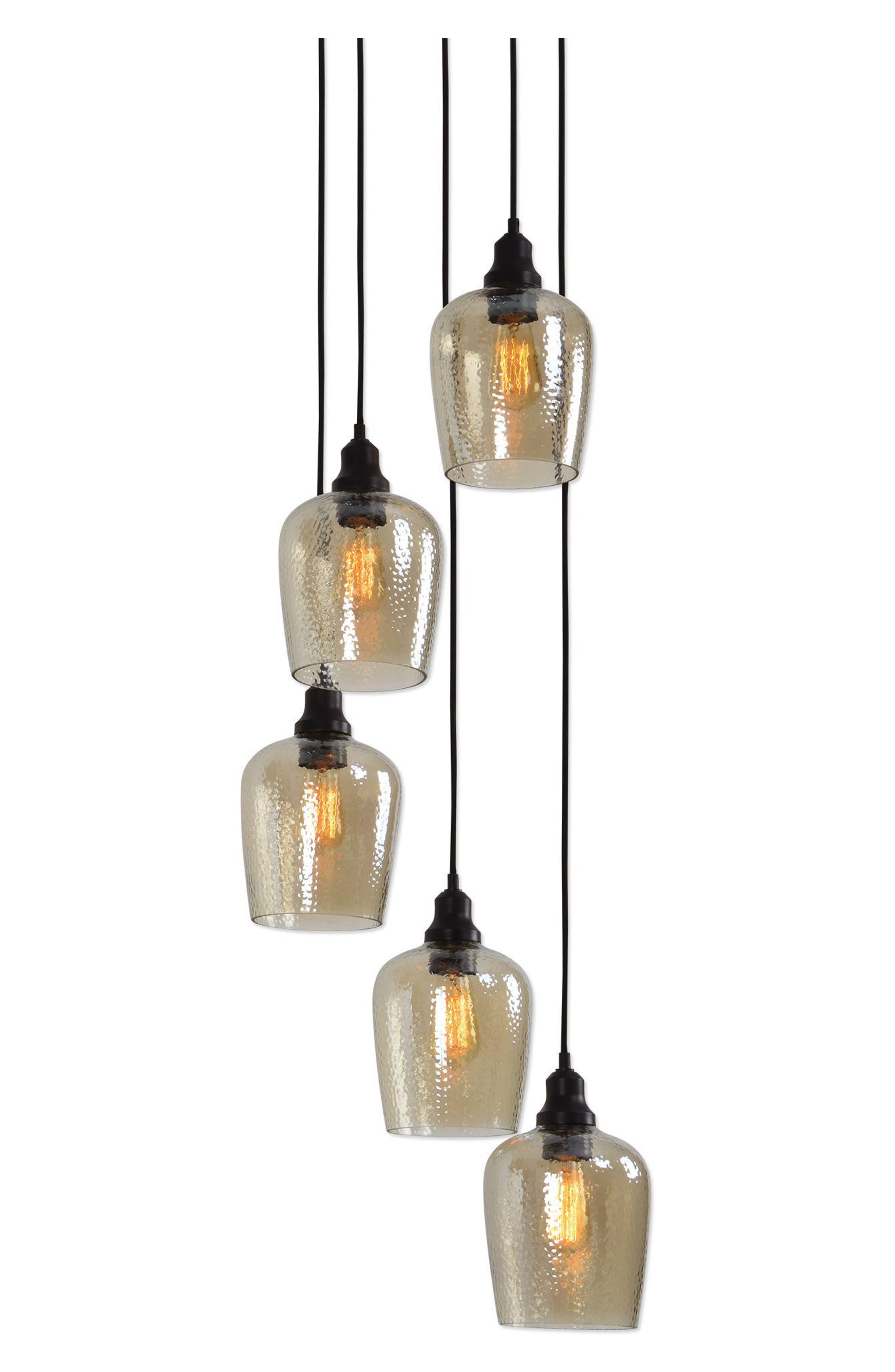 Aarush Pendant Lamp,                             Main thumbnail 1, color,                             Brown