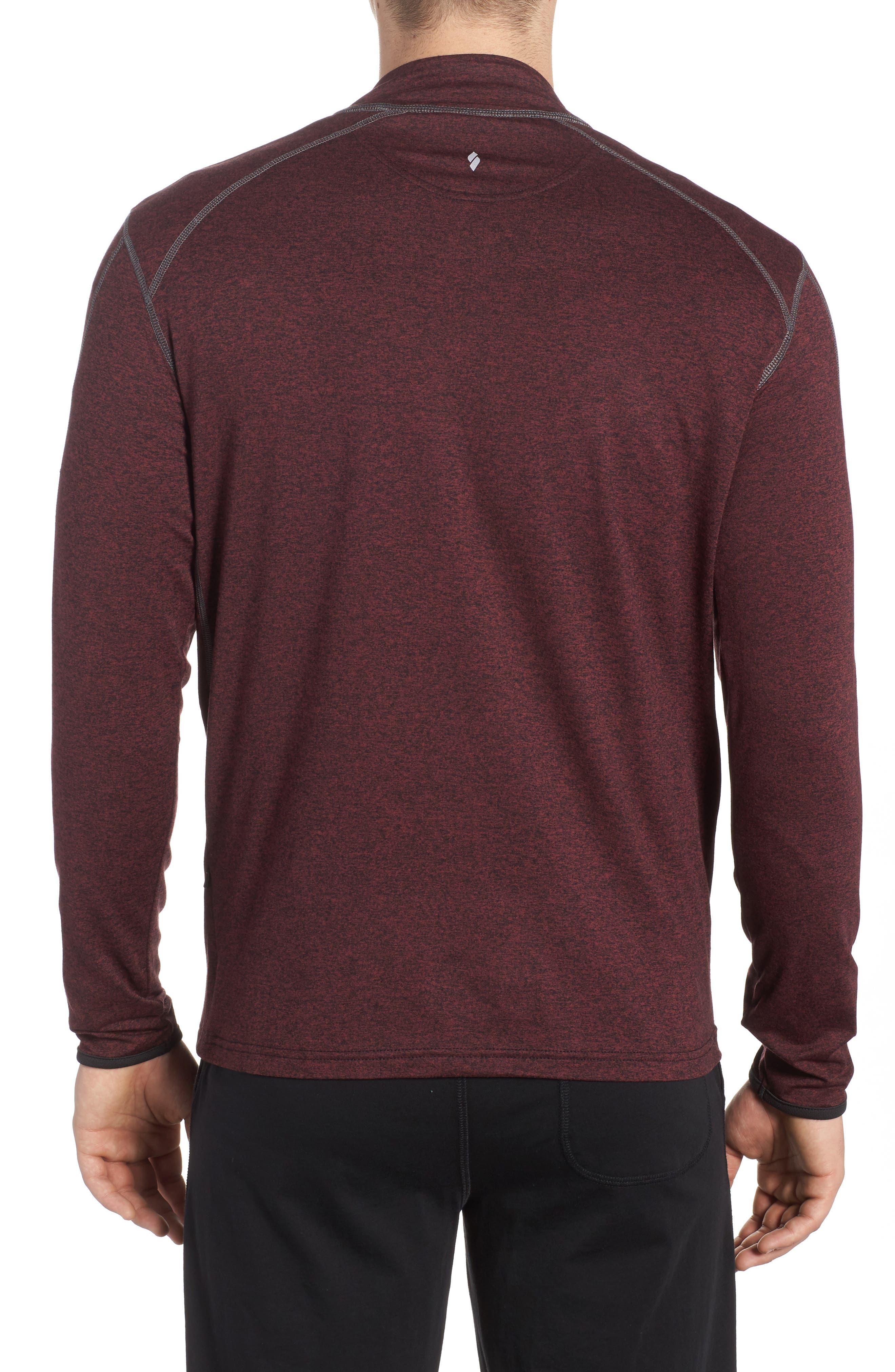 Alternate Image 2  - SODO 'Elevate' Moisture Wicking Stretch Quarter Zip Pullover