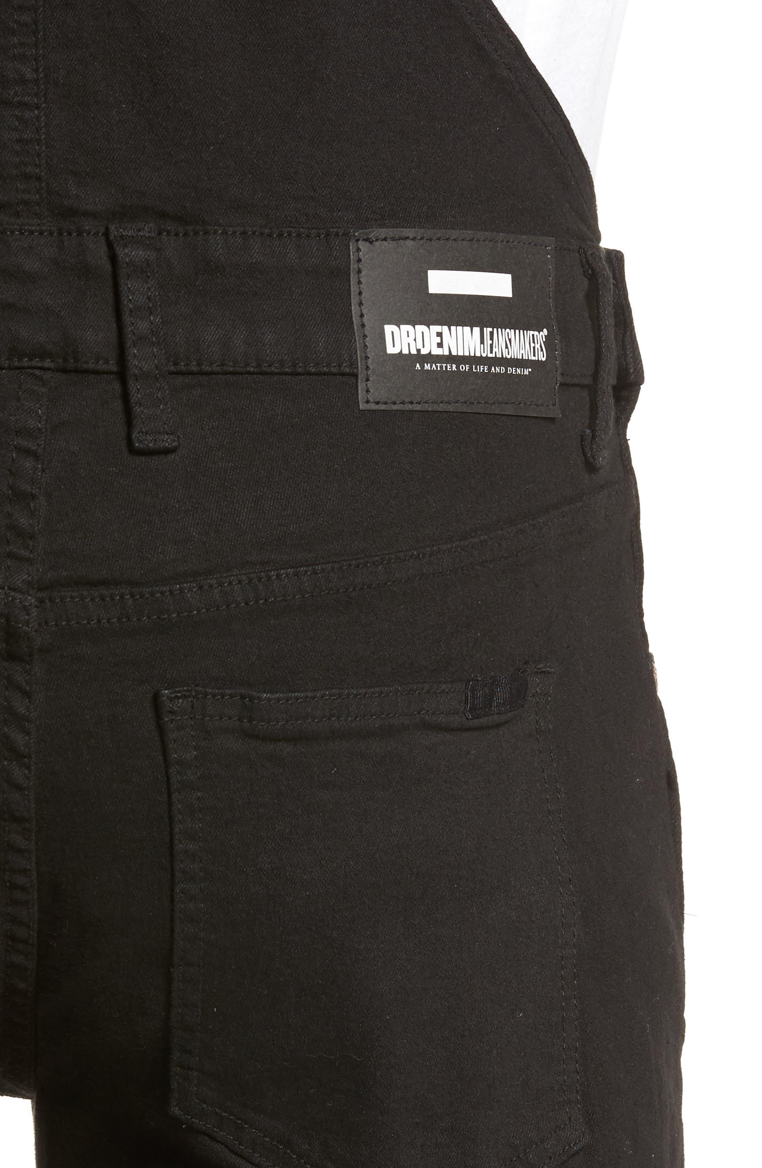 Alternate Image 4  - Dr. Denim Supply Co. Ira Skinny Fit Overalls