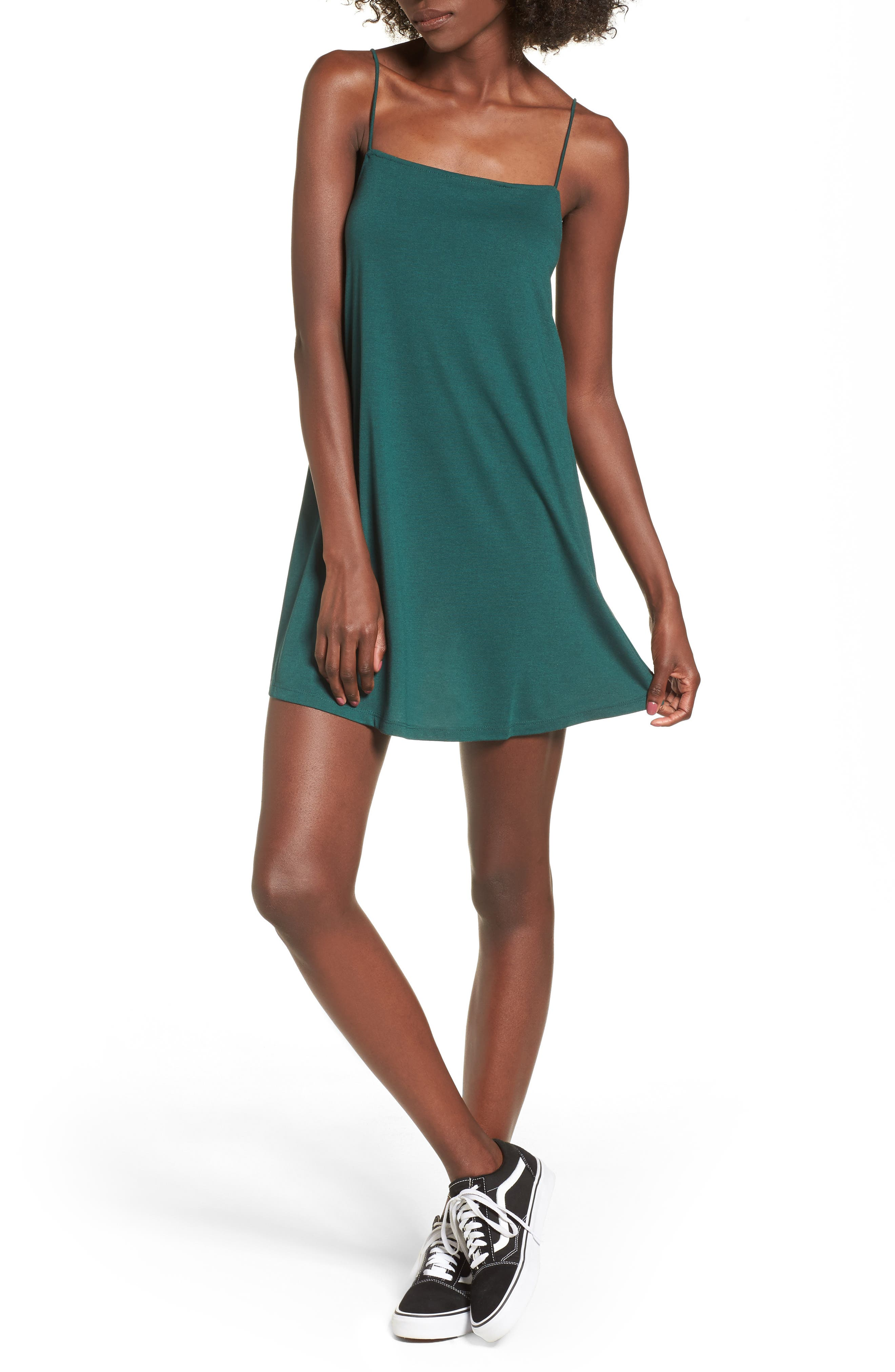 Main Image - RVCA Rachel Camisole Dress