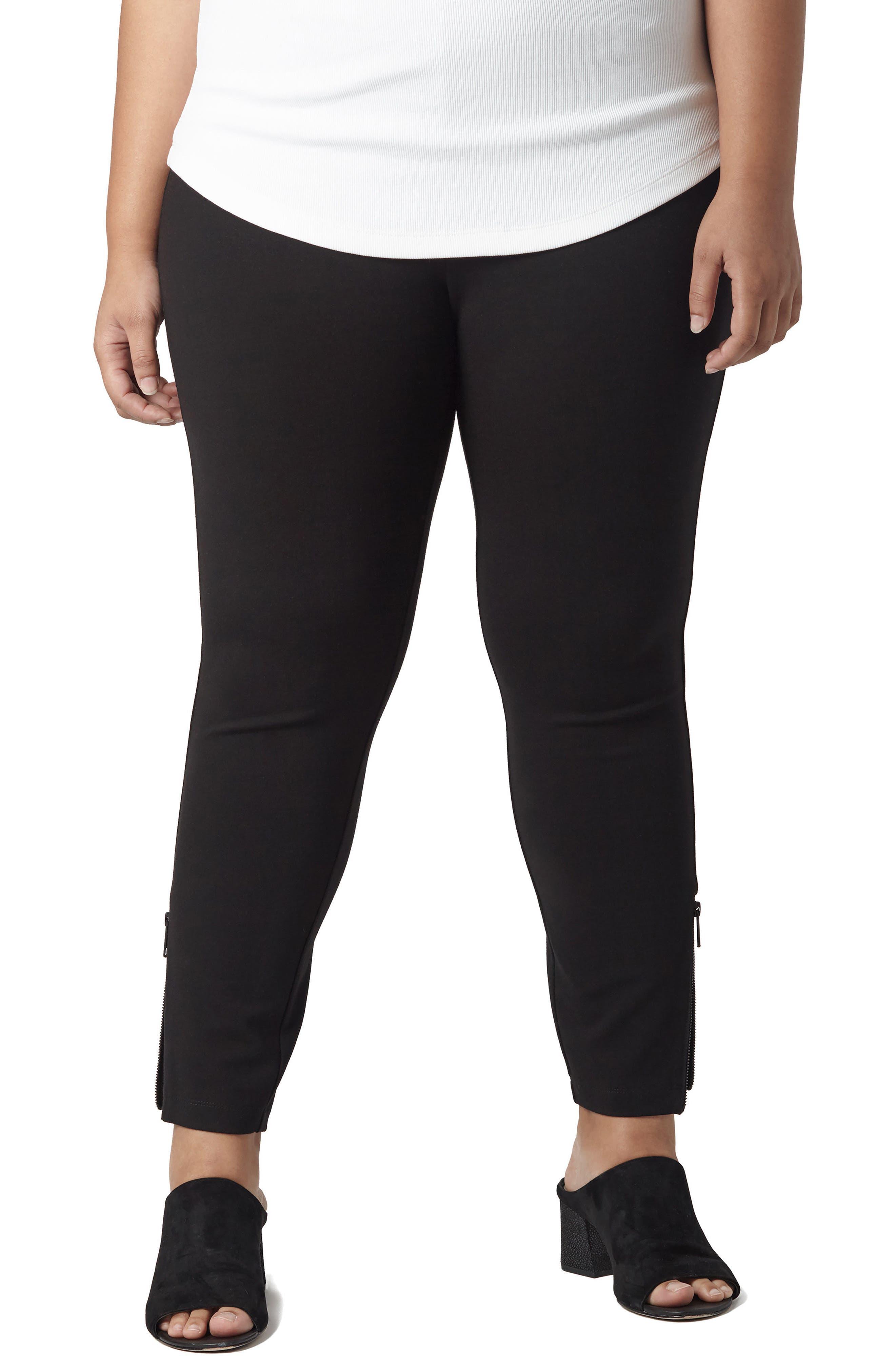 Moro Ponte Knit Pants,                         Main,                         color, Black