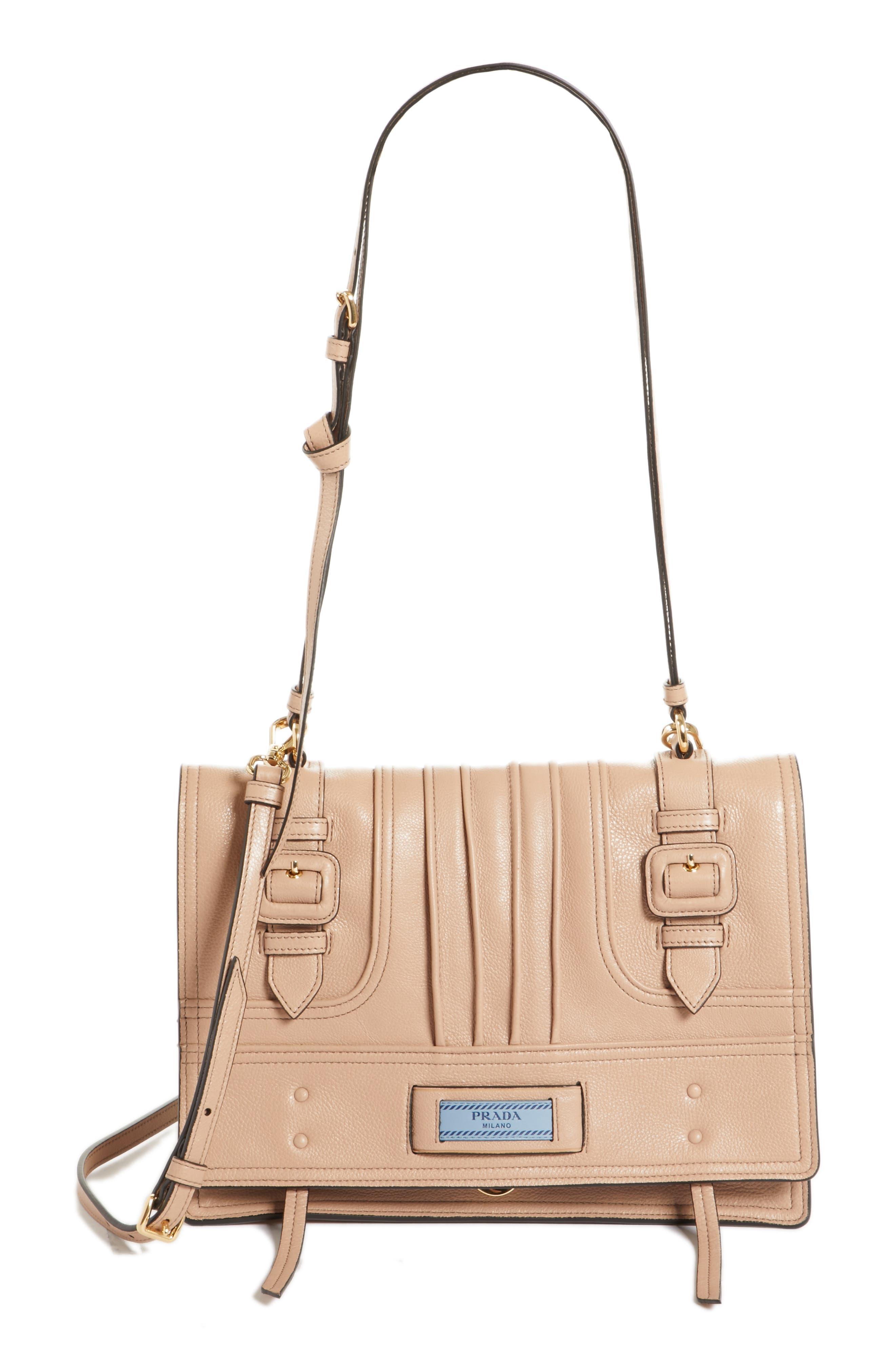 Prada Medium Etiquette Patch Bag