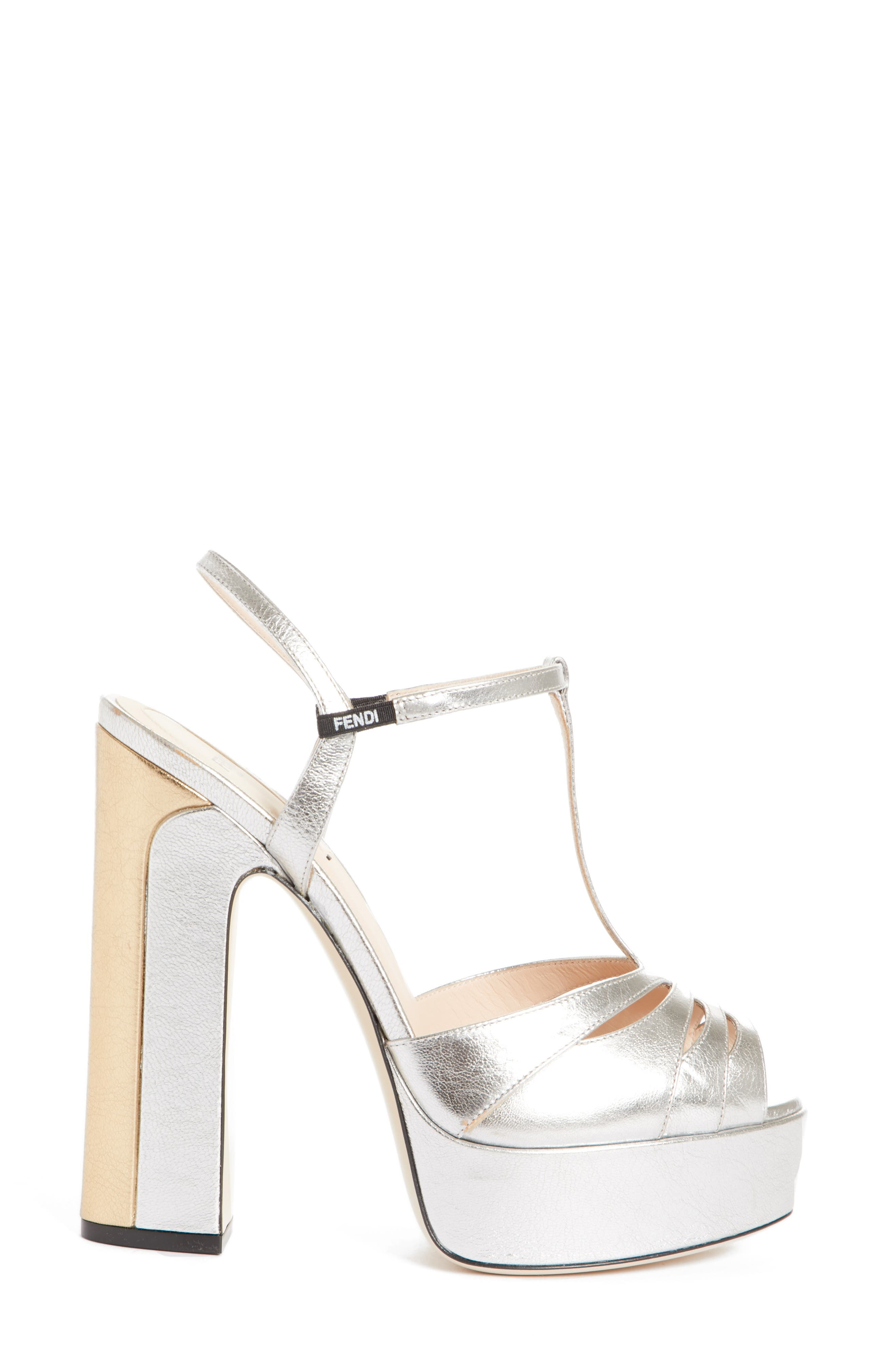 Alternate Image 3  - Fendi Duo Platform Sandal (Women)