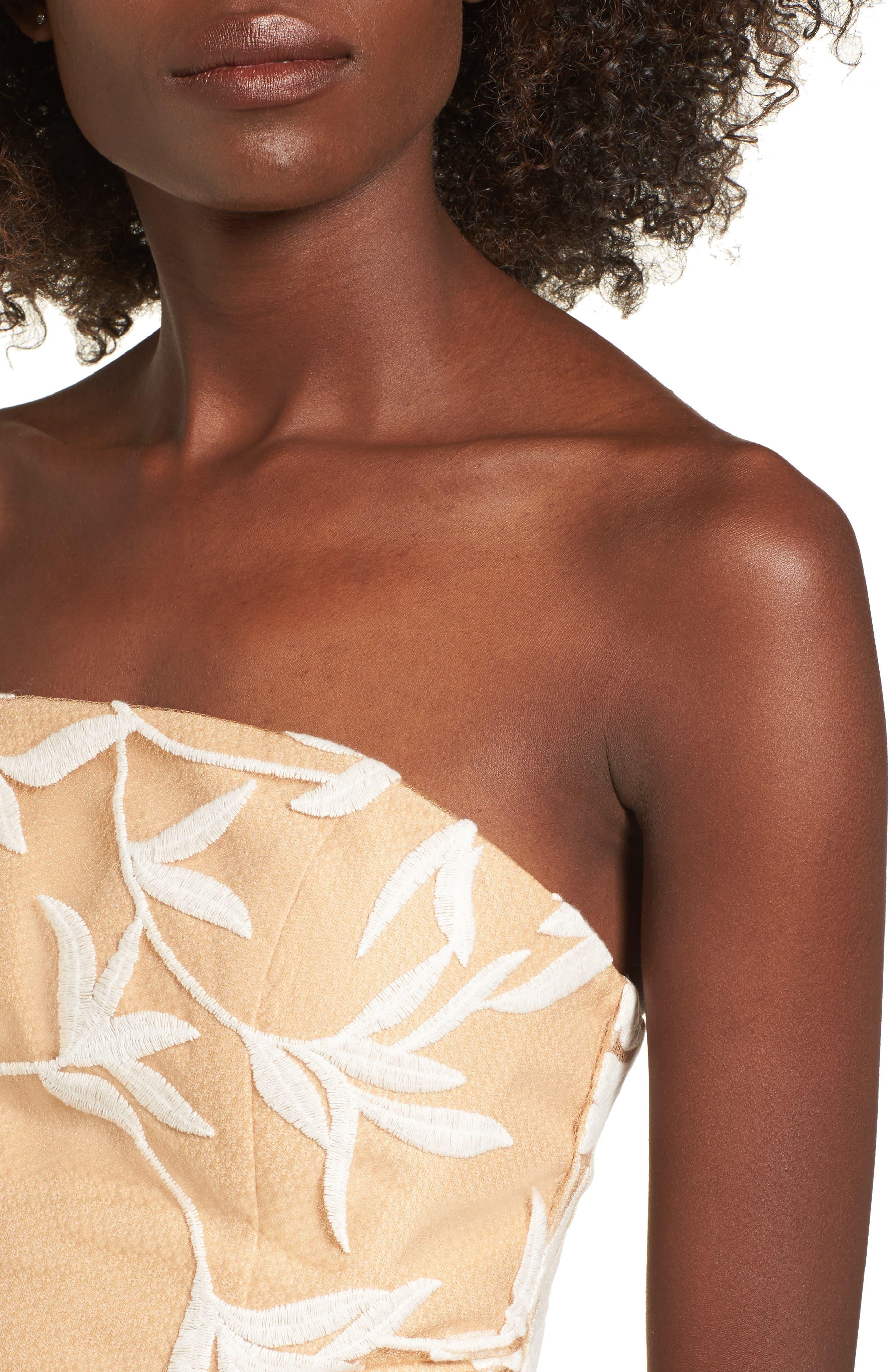 Alternate Image 4  - Keepsake the Label Fast Lanes Midi Dress