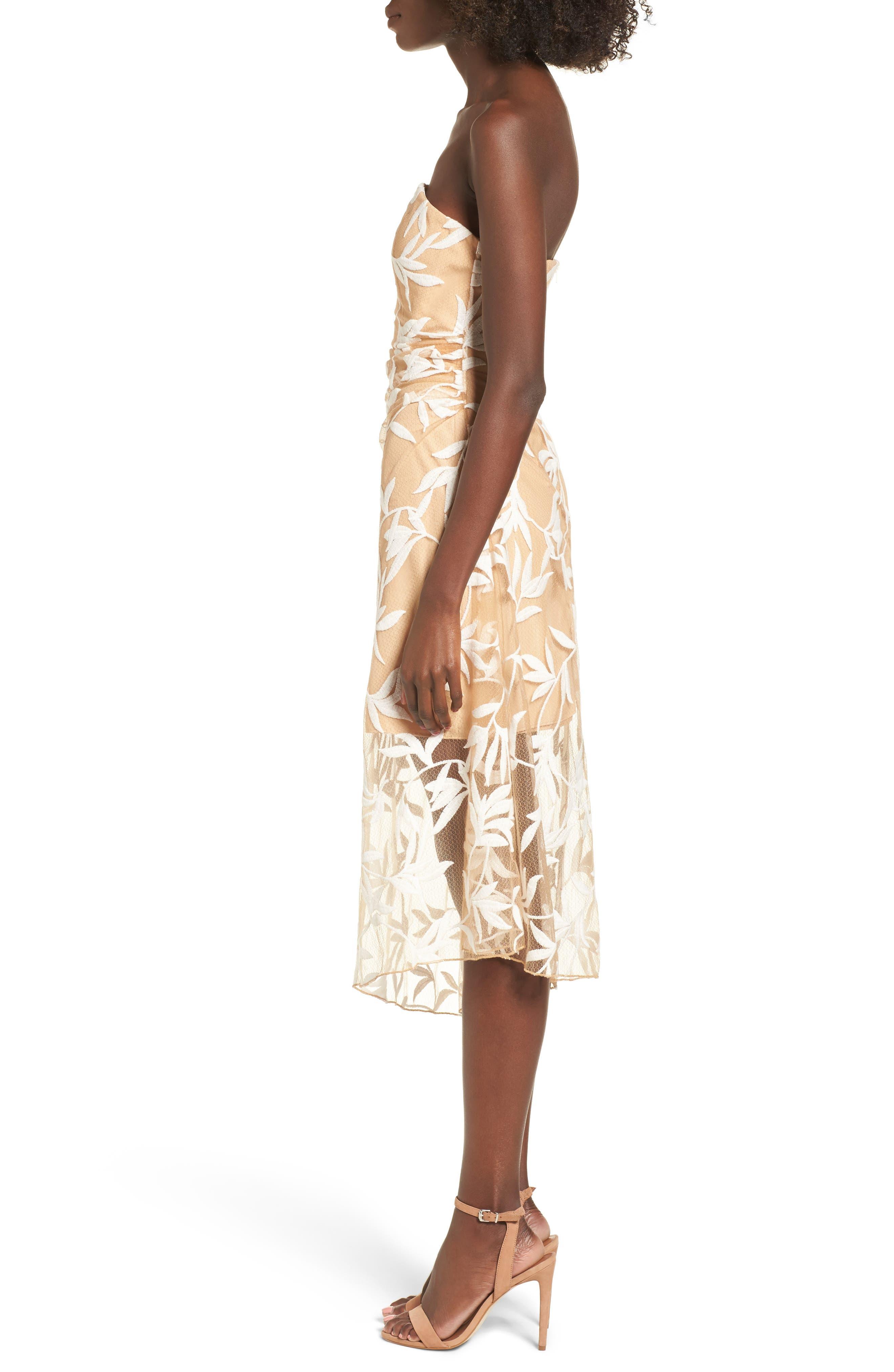 Alternate Image 3  - Keepsake the Label Fast Lanes Midi Dress