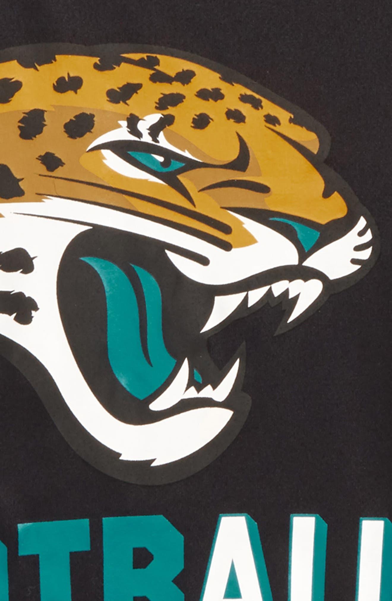 Nike NFL Logo - Jacksonville Jaguars Dry T-Shirt,                             Alternate thumbnail 2, color,                             Black
