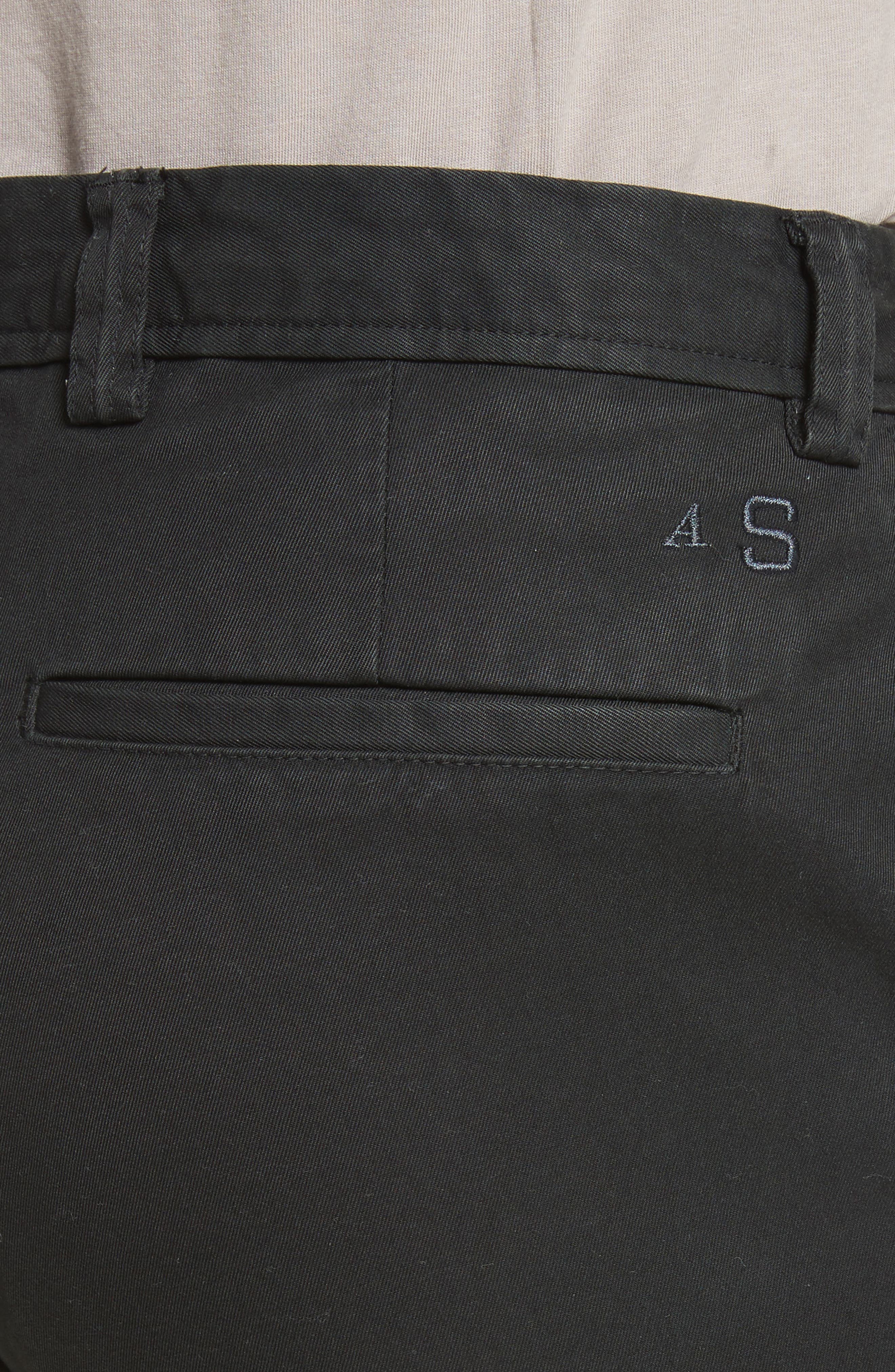Isher Chinos,                             Alternate thumbnail 4, color,                             Coal Black
