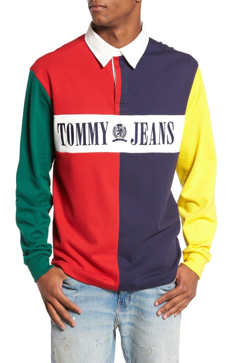 46aa8f9b16a Tommy Hilfiger Denim Jeans 90 ́s Logo T Shirt Herren | RLDM