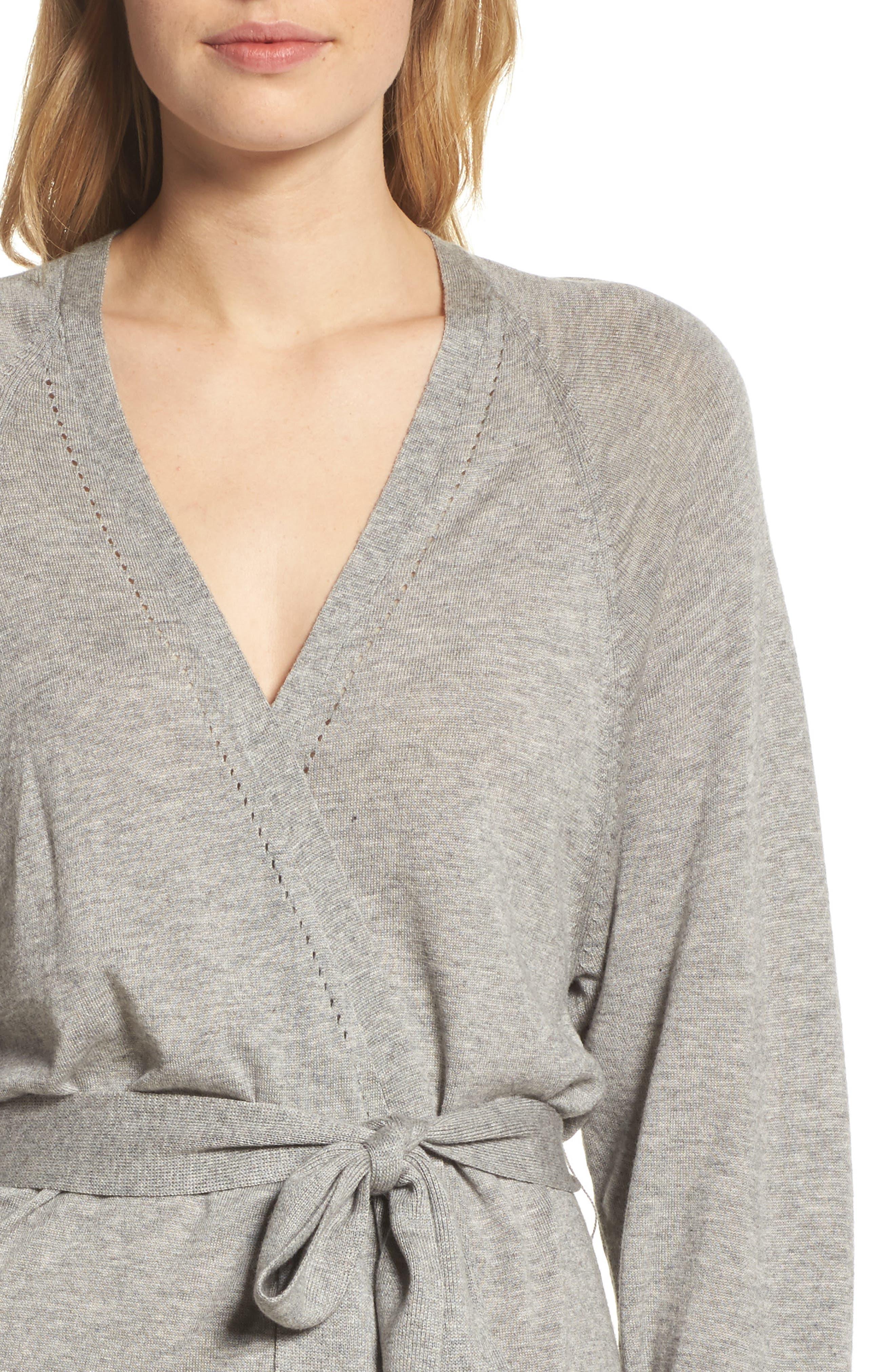 Alternate Image 5  - skin Mina Short Robe