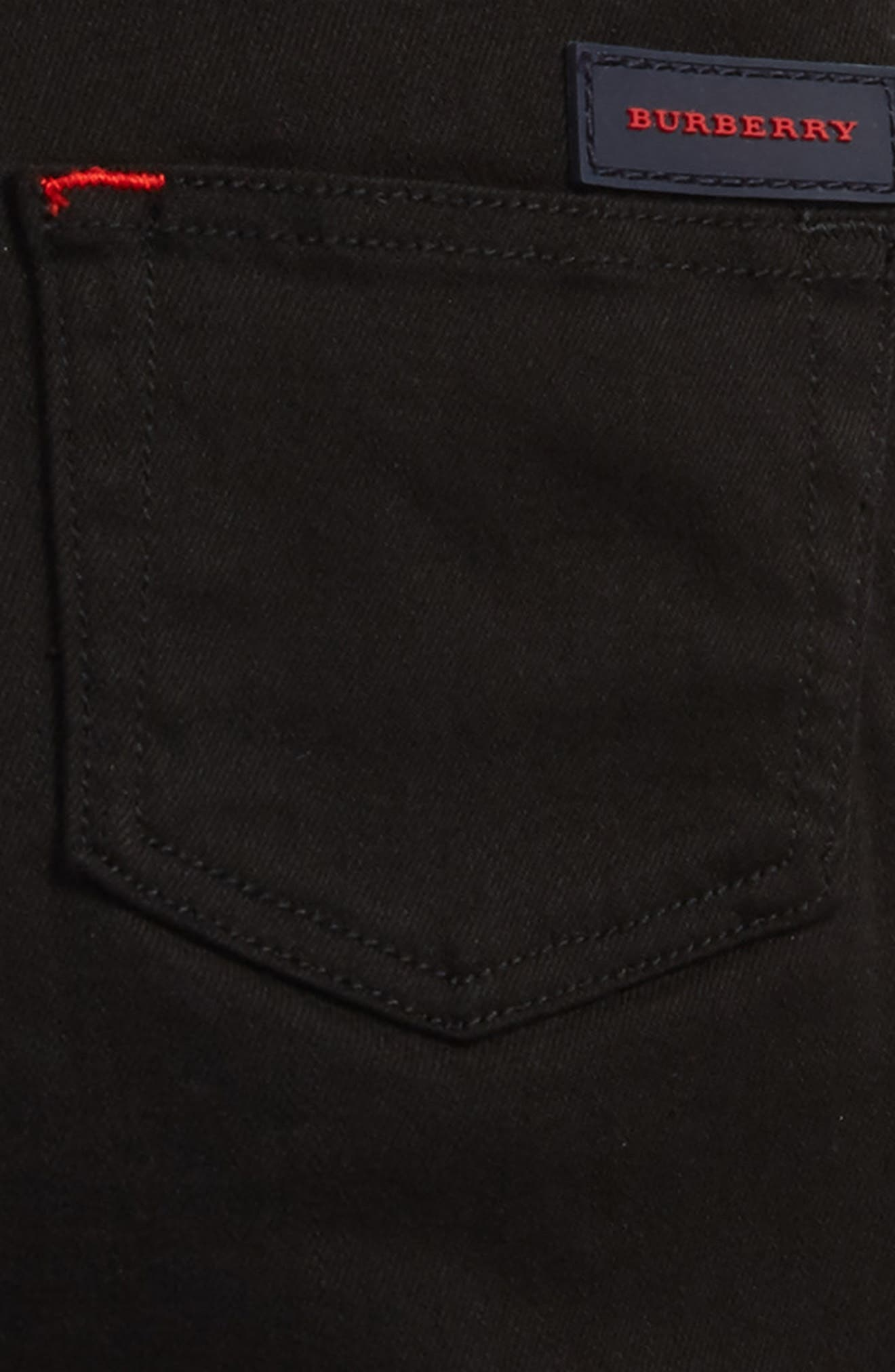 Alternate Image 3  - Burberry Skinny Jeans (Toddler Boys, Little Boys & Big Boys)