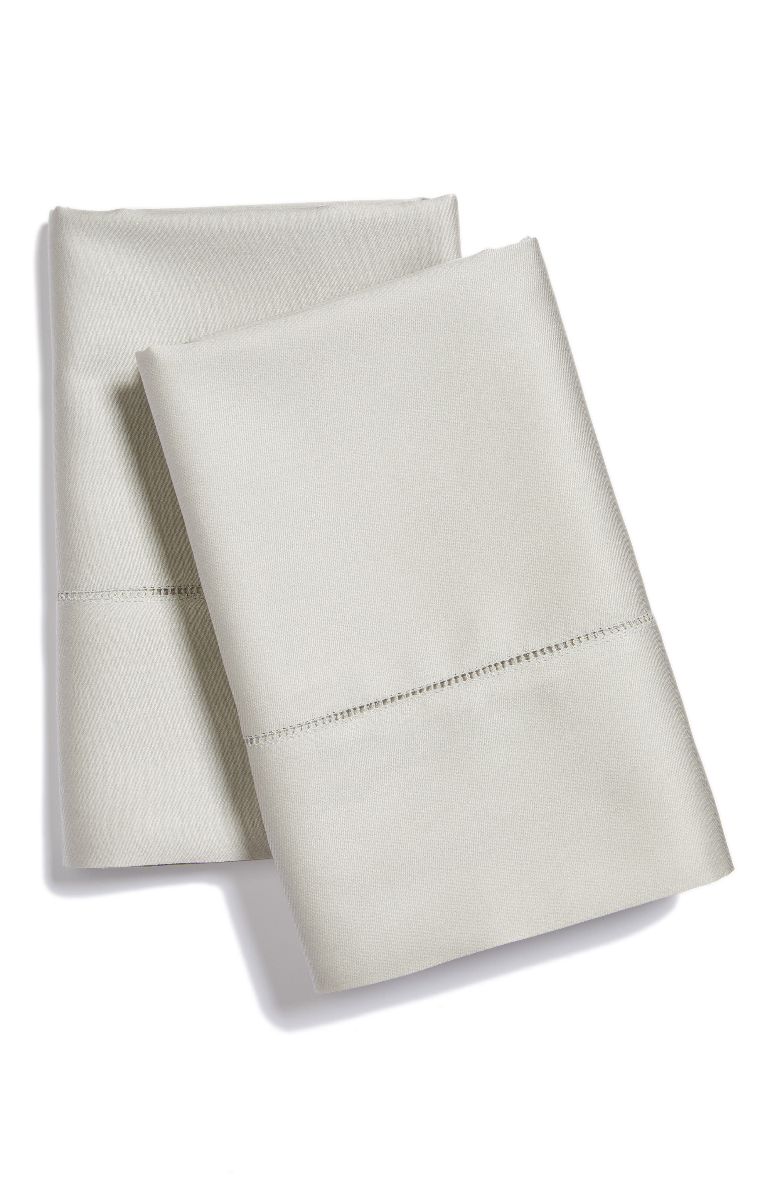 Fiona Pillowcases,                         Main,                         color, Grey
