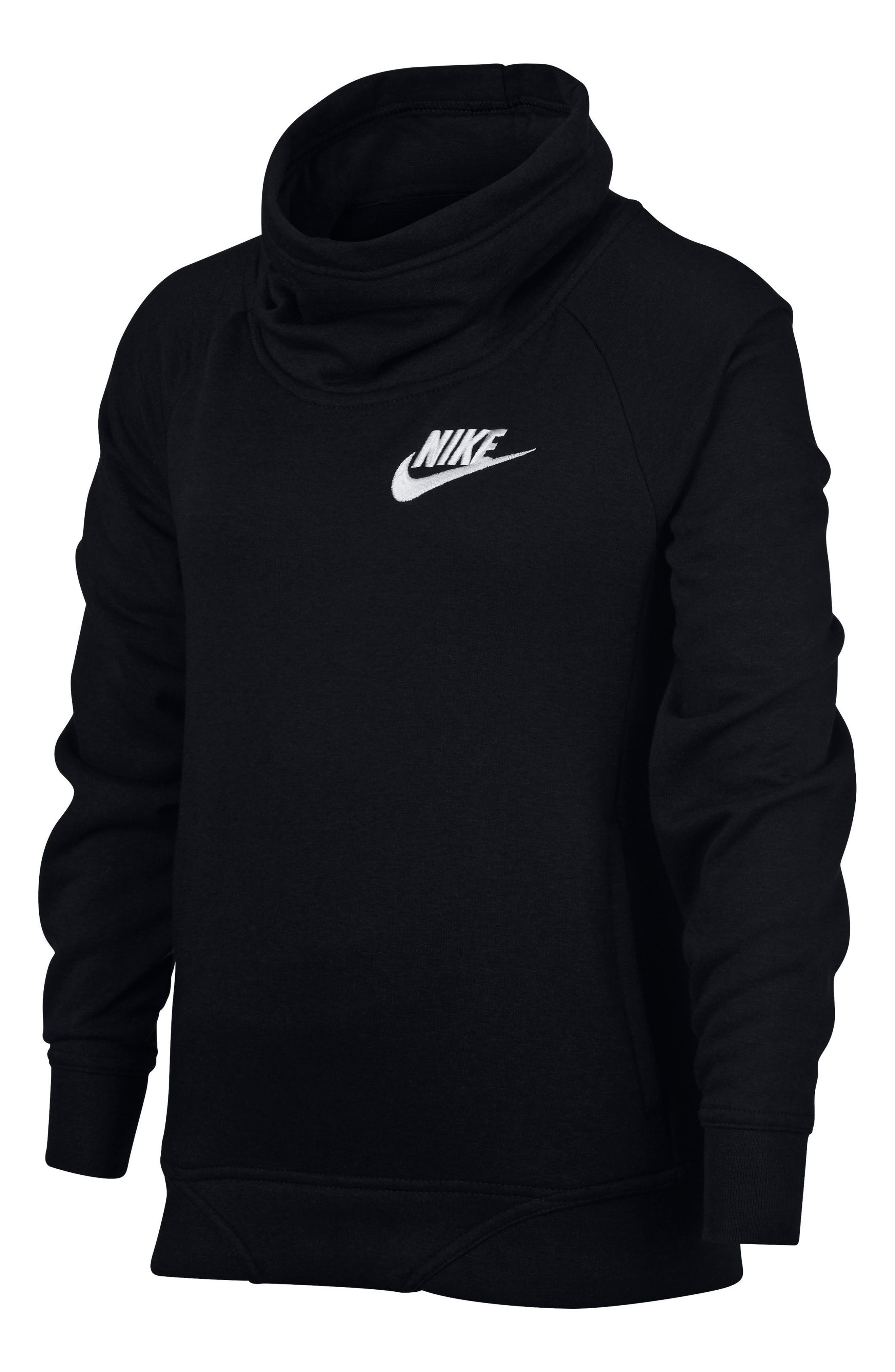 Nike Long Sleeve Pullover (Big Girls)