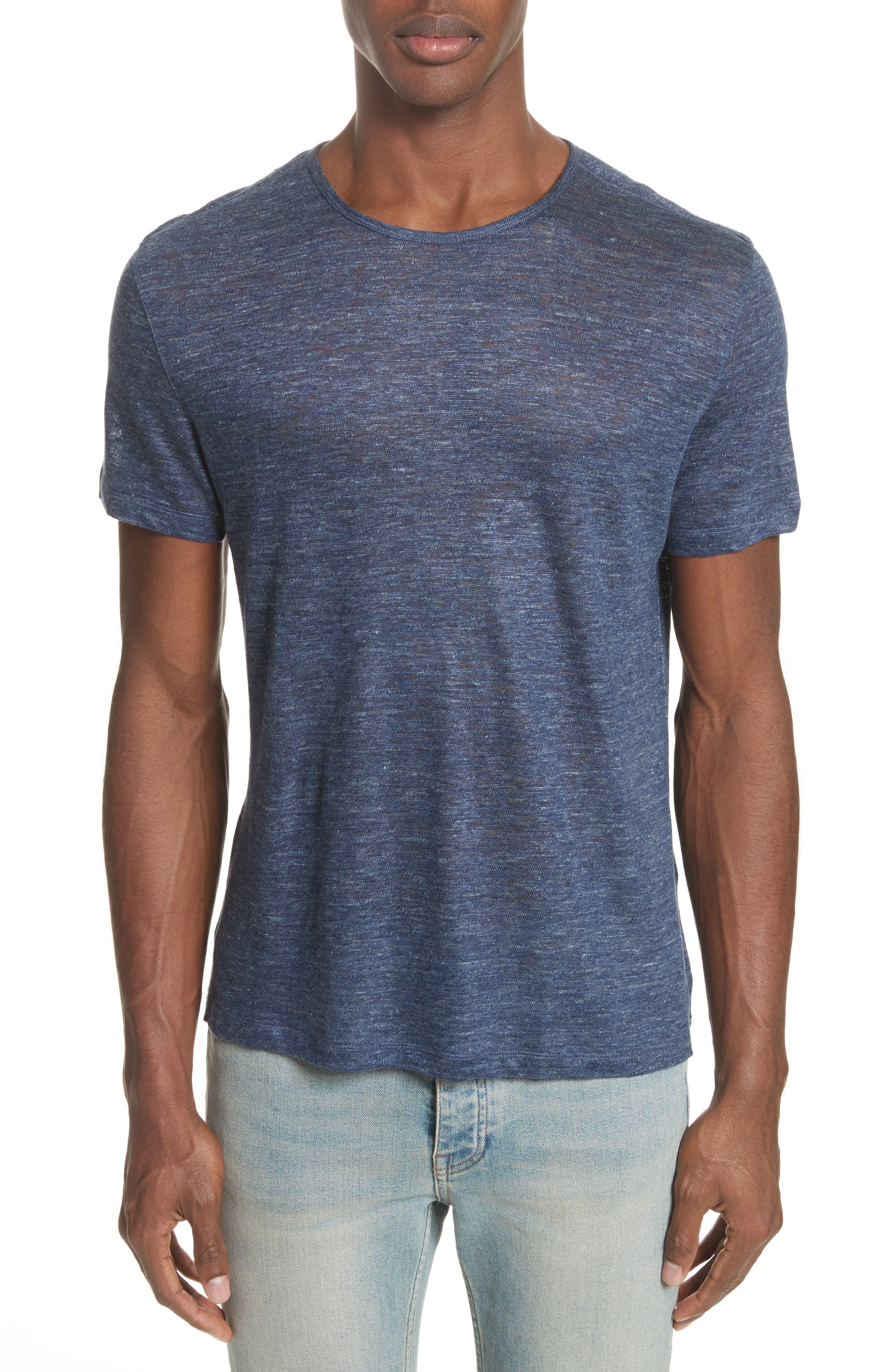 John Varvatos Collection Linen T-Shirt