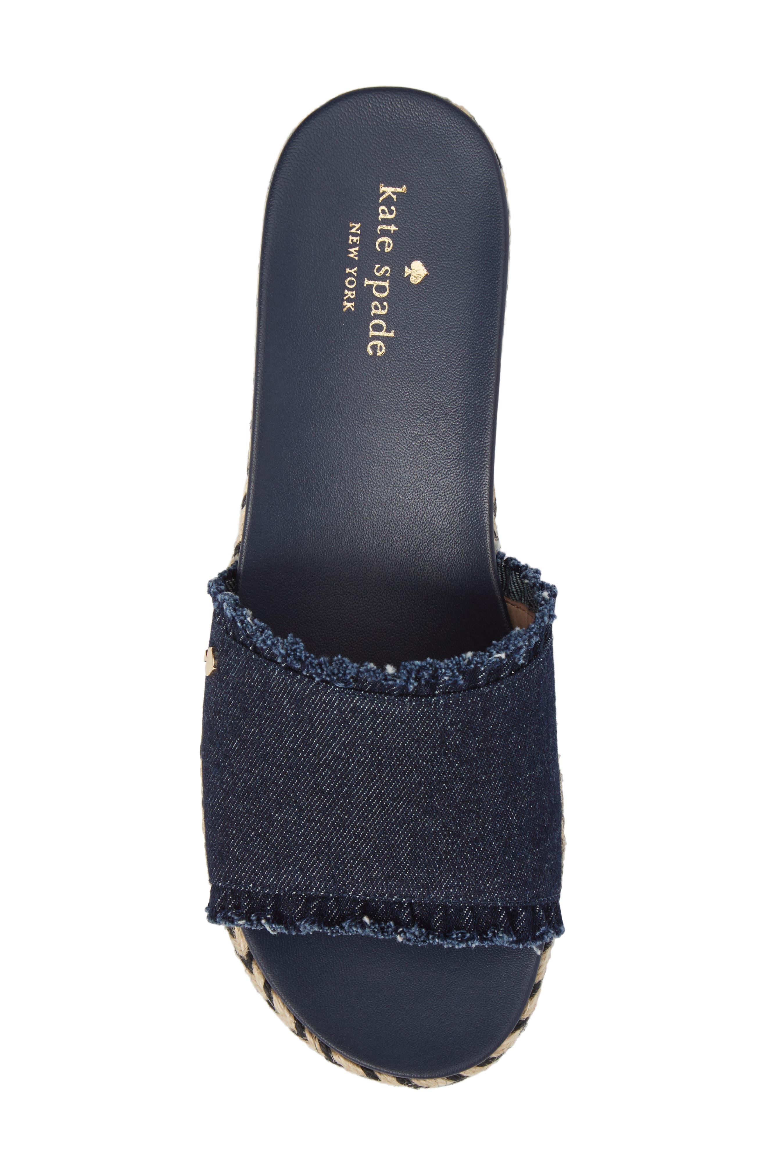 Alternate Image 5  - kate spade new york zahara slide sandal (Women)