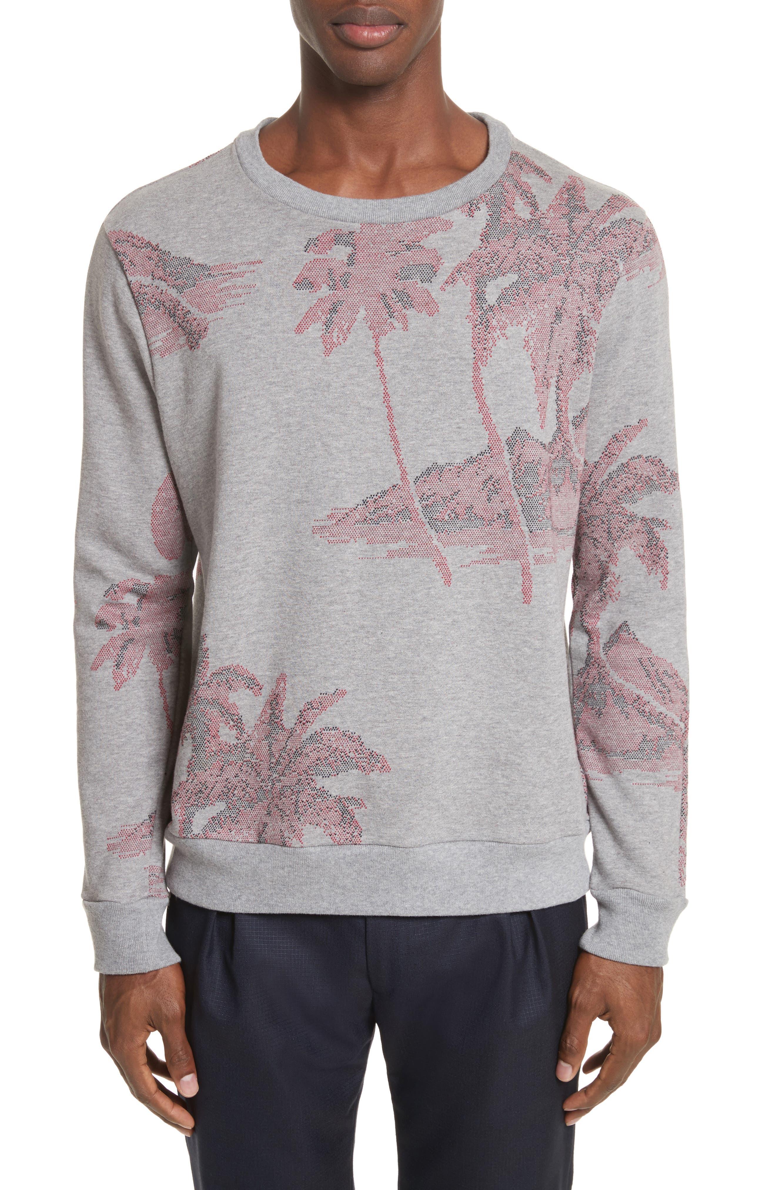 Crewneck Sweatshirt,                         Main,                         color, 24 Grey