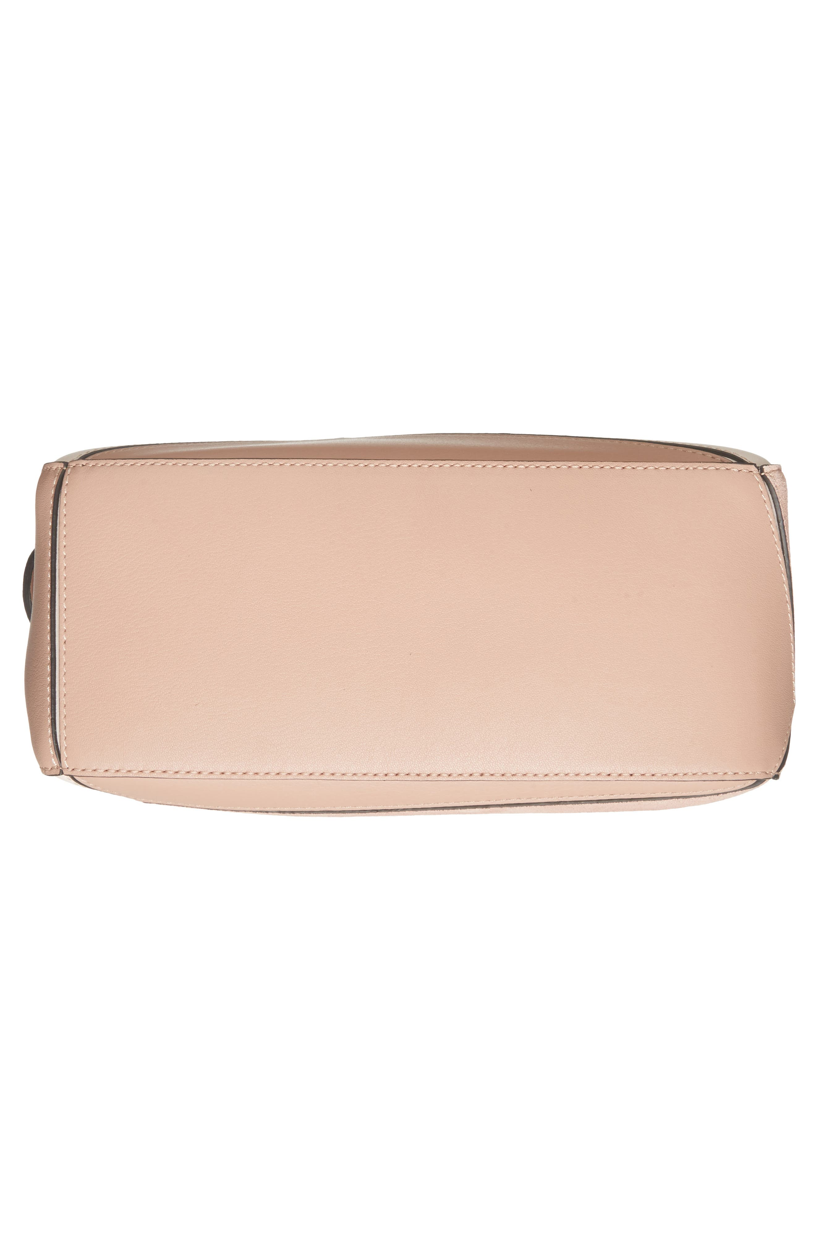 Small Puzzle Bicolor Leather Bag,                             Alternate thumbnail 6, color,                             Blush Multitone