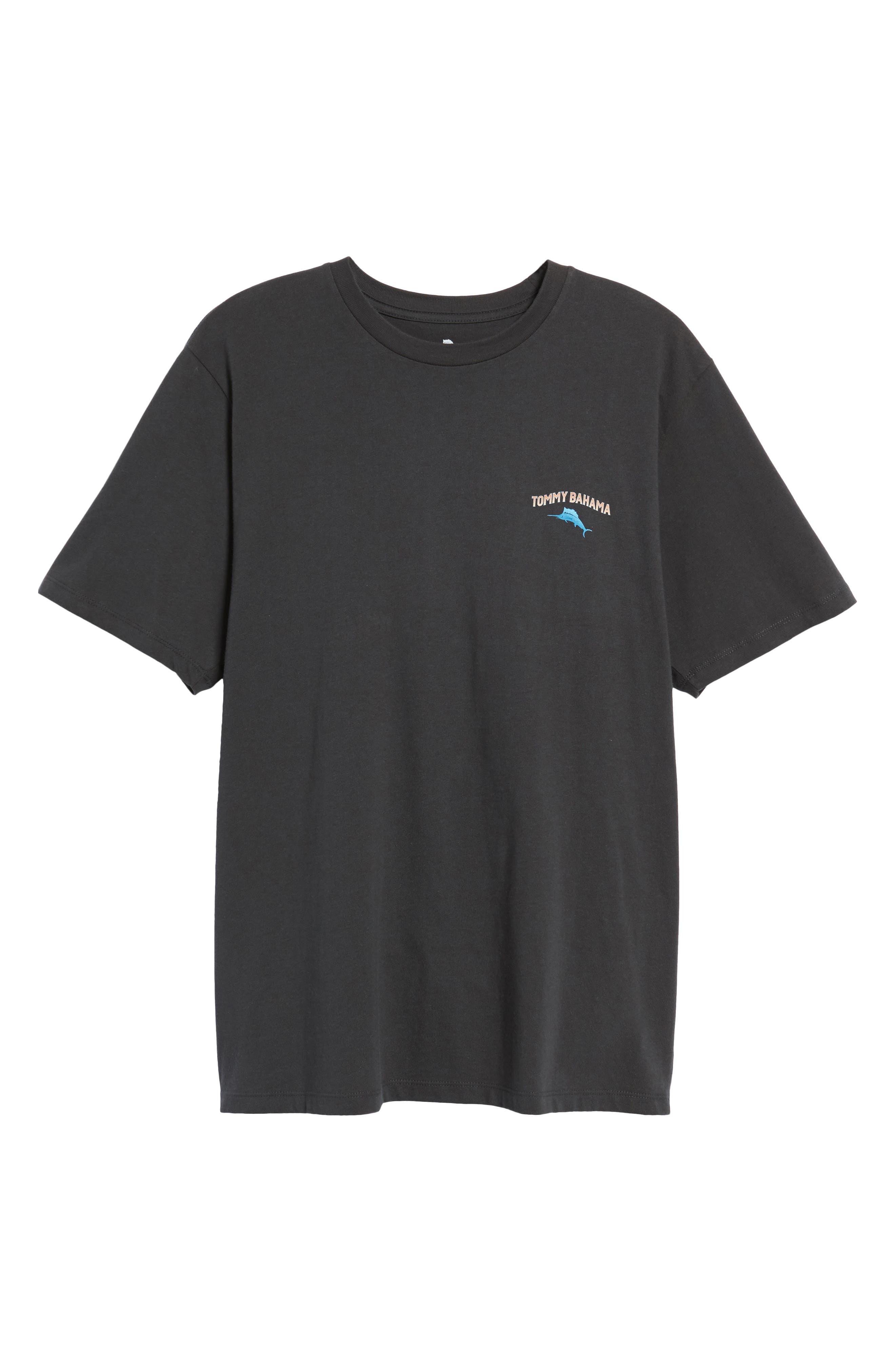 Cab Legs Graphic T-Shirt,                             Alternate thumbnail 6, color,                             Coal