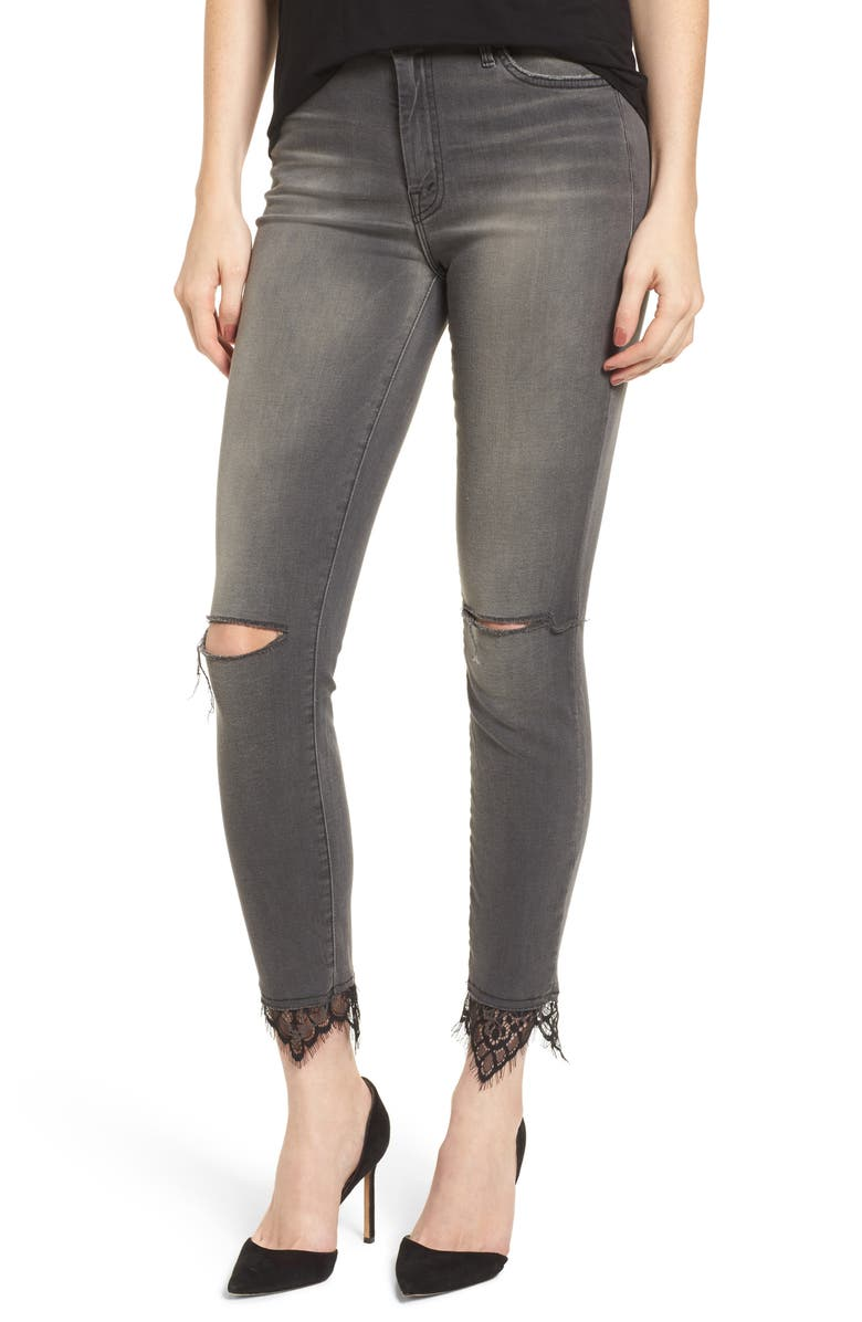 The Looker High Waist Ankle Skinny Jeans