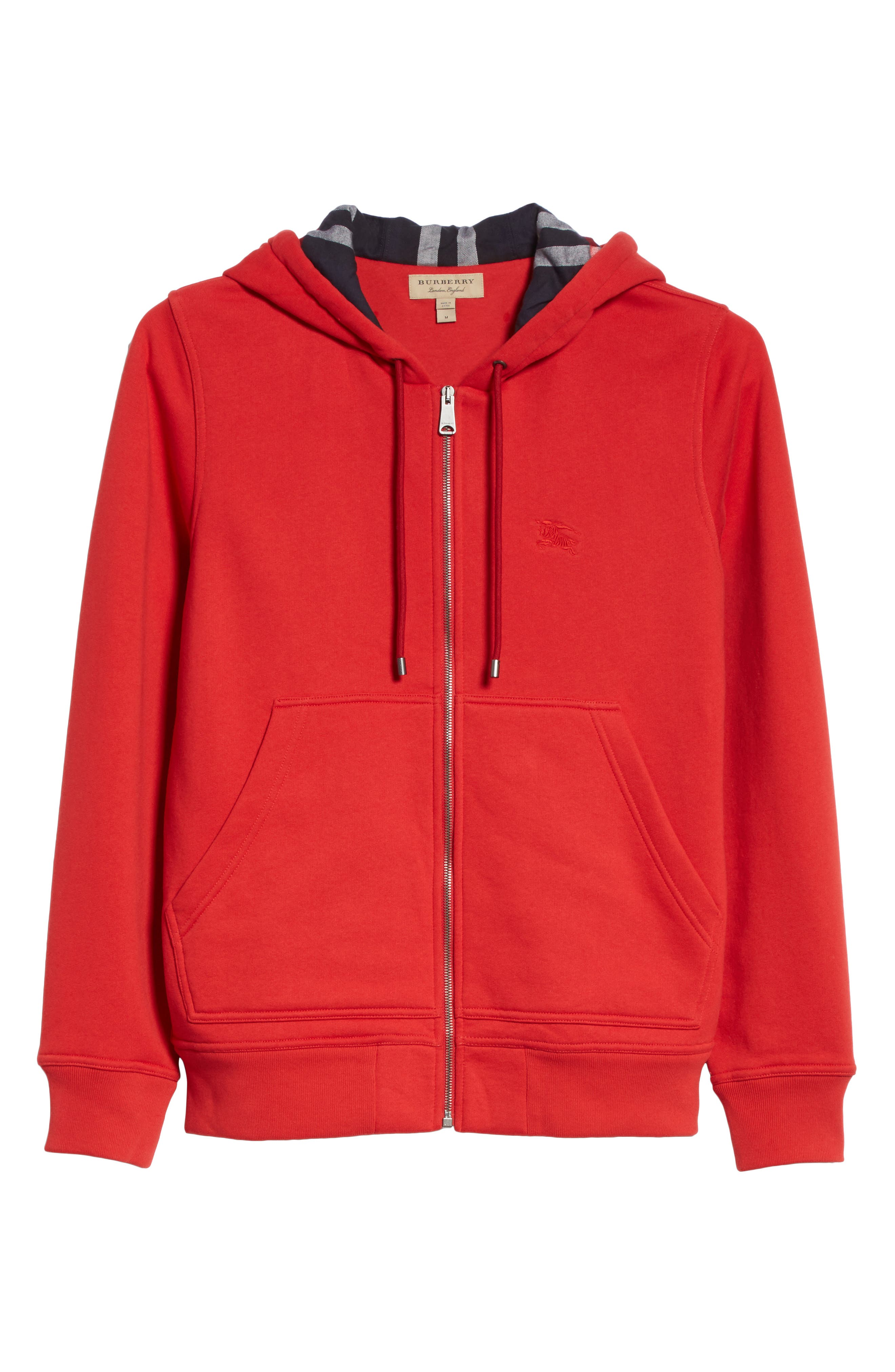 Fordson Fleece Hoodie,                             Alternate thumbnail 6, color,                             Military Red