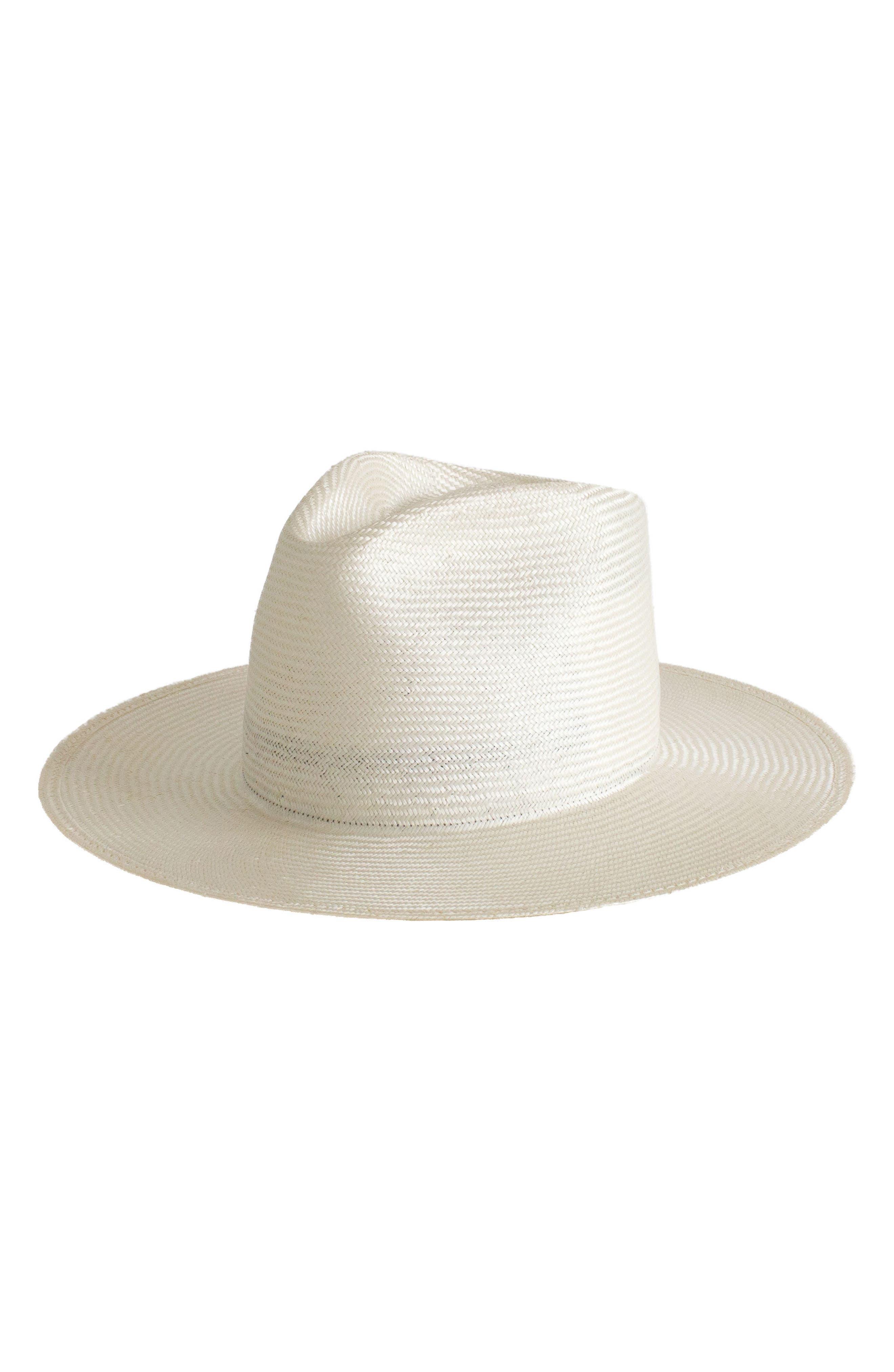 Alternate Image 1 Selected - Janessa Leone Alexander Straw Hat