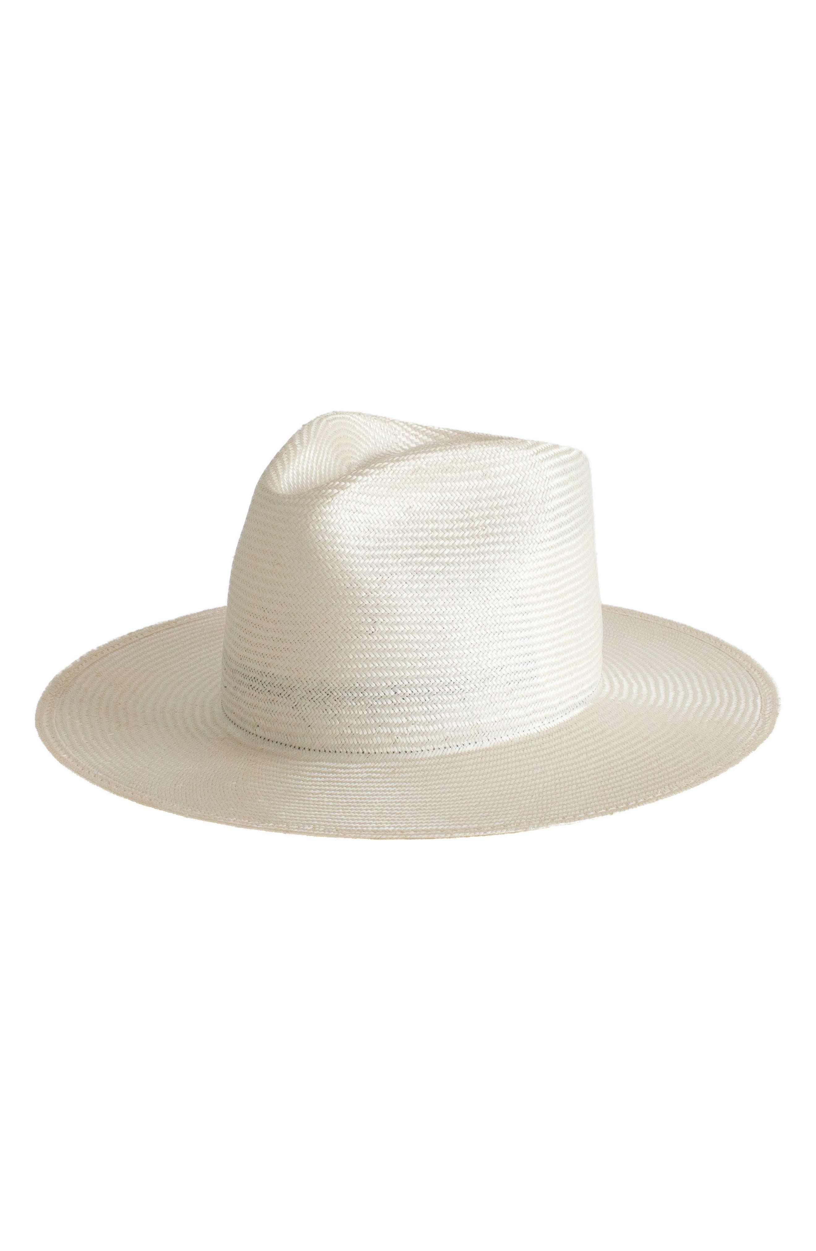 Main Image - Janessa Leone Alexander Straw Hat